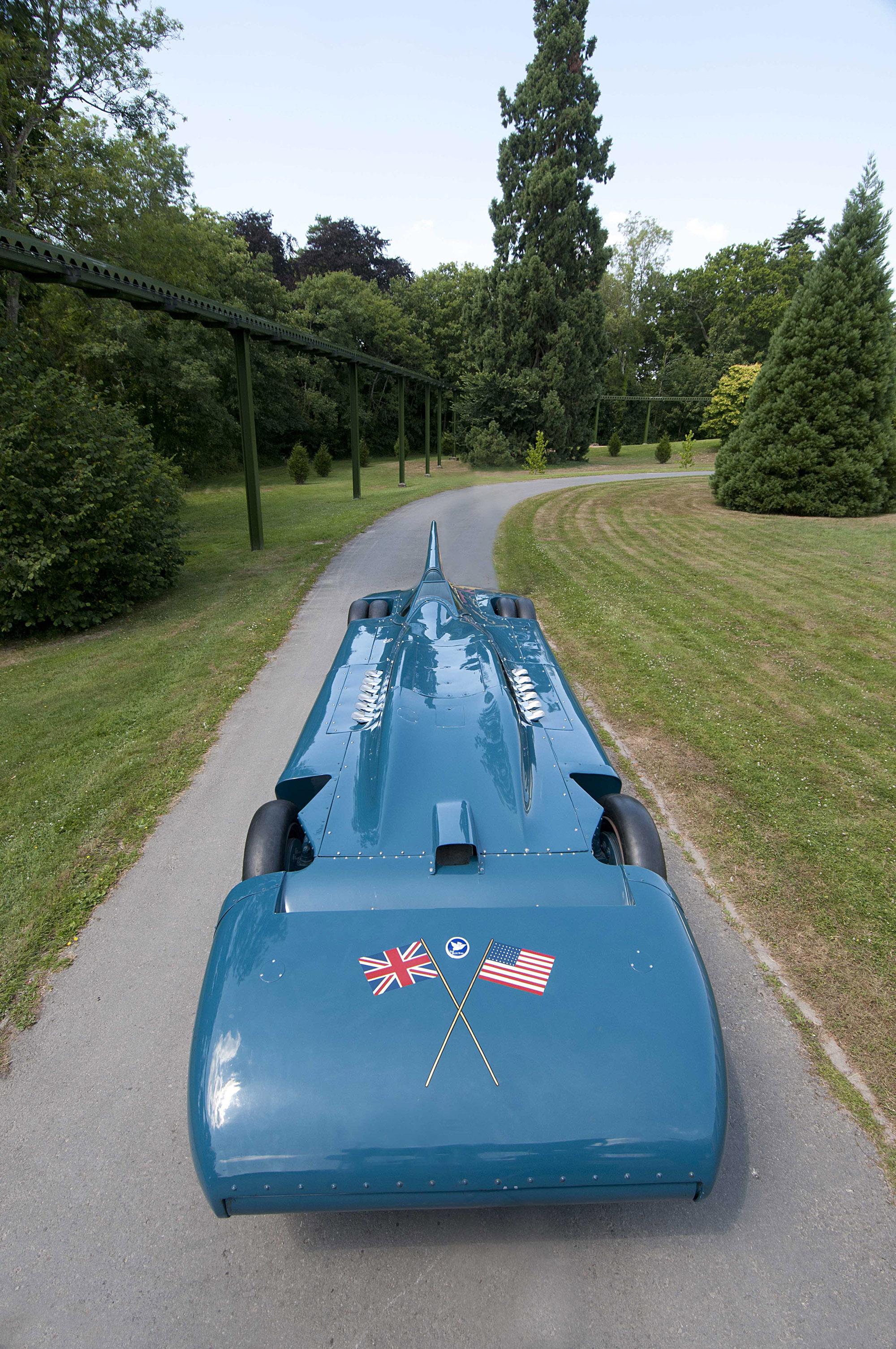 1935 Blue Bird V Land Speed Record 484 5 Km H
