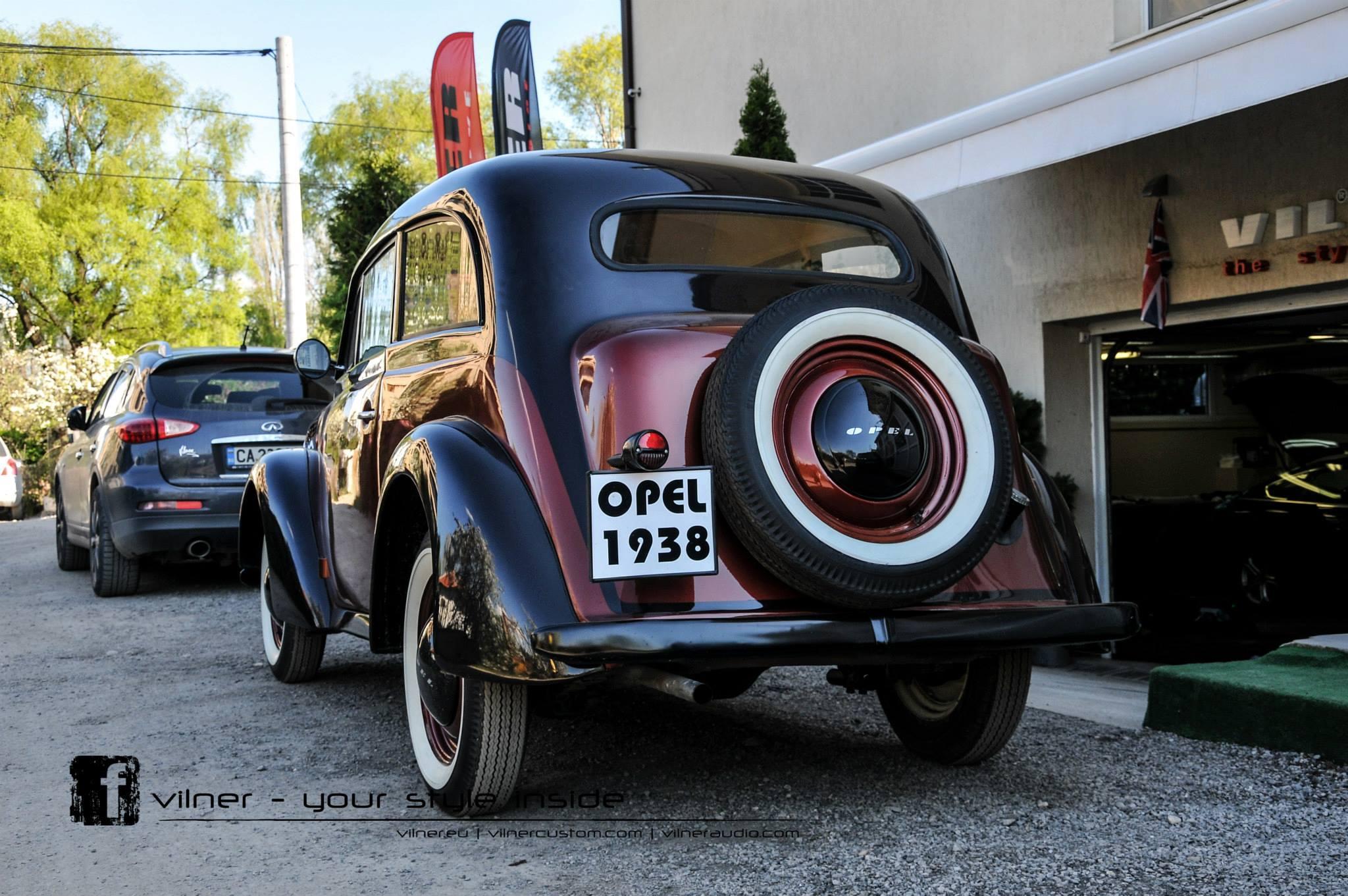 Vilner Restores 1938 Opel Olympia