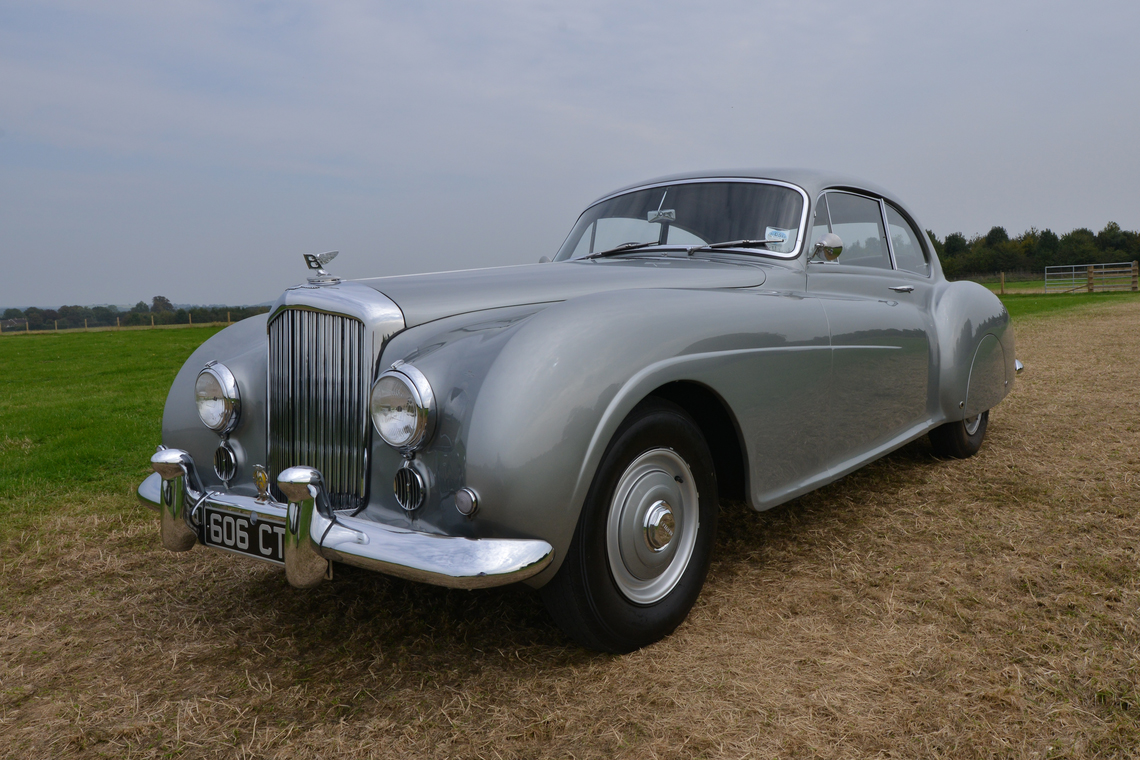 Rare 1954 Bentley R Type Continental Fastback To Be