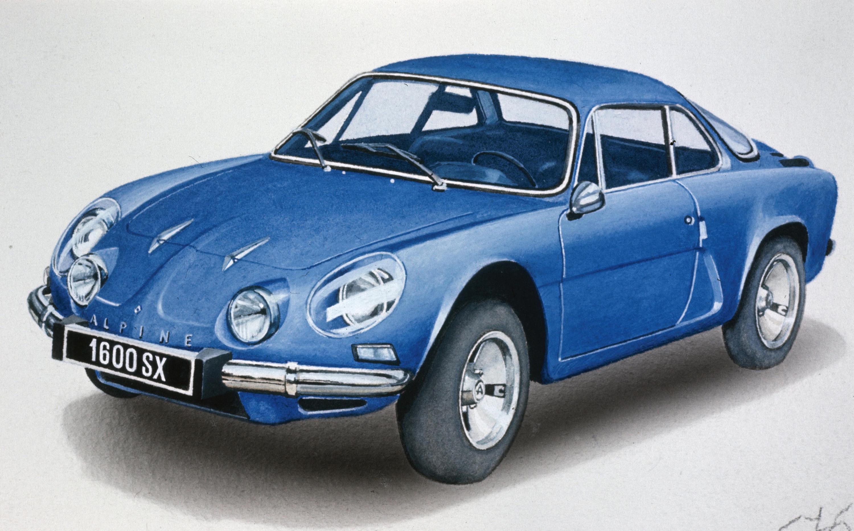 1962 renault alpine a110 -#main