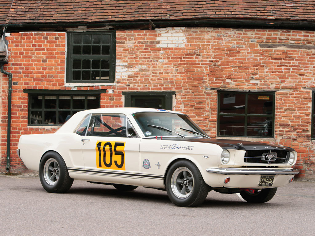 1965 ford mustang 289 racing car 1 8