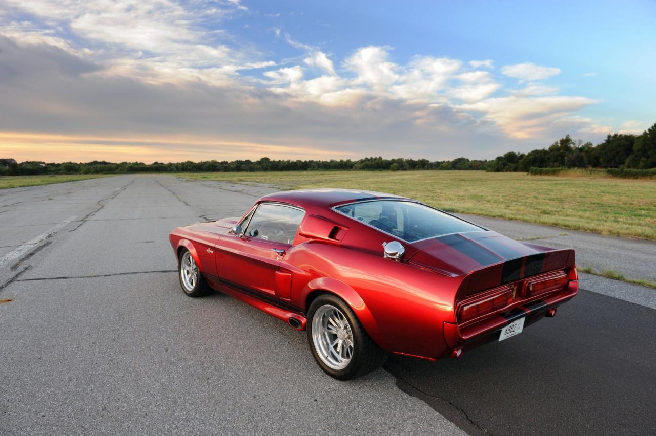 1967 shelby gt500cr a brutal car from classic recreations. Black Bedroom Furniture Sets. Home Design Ideas