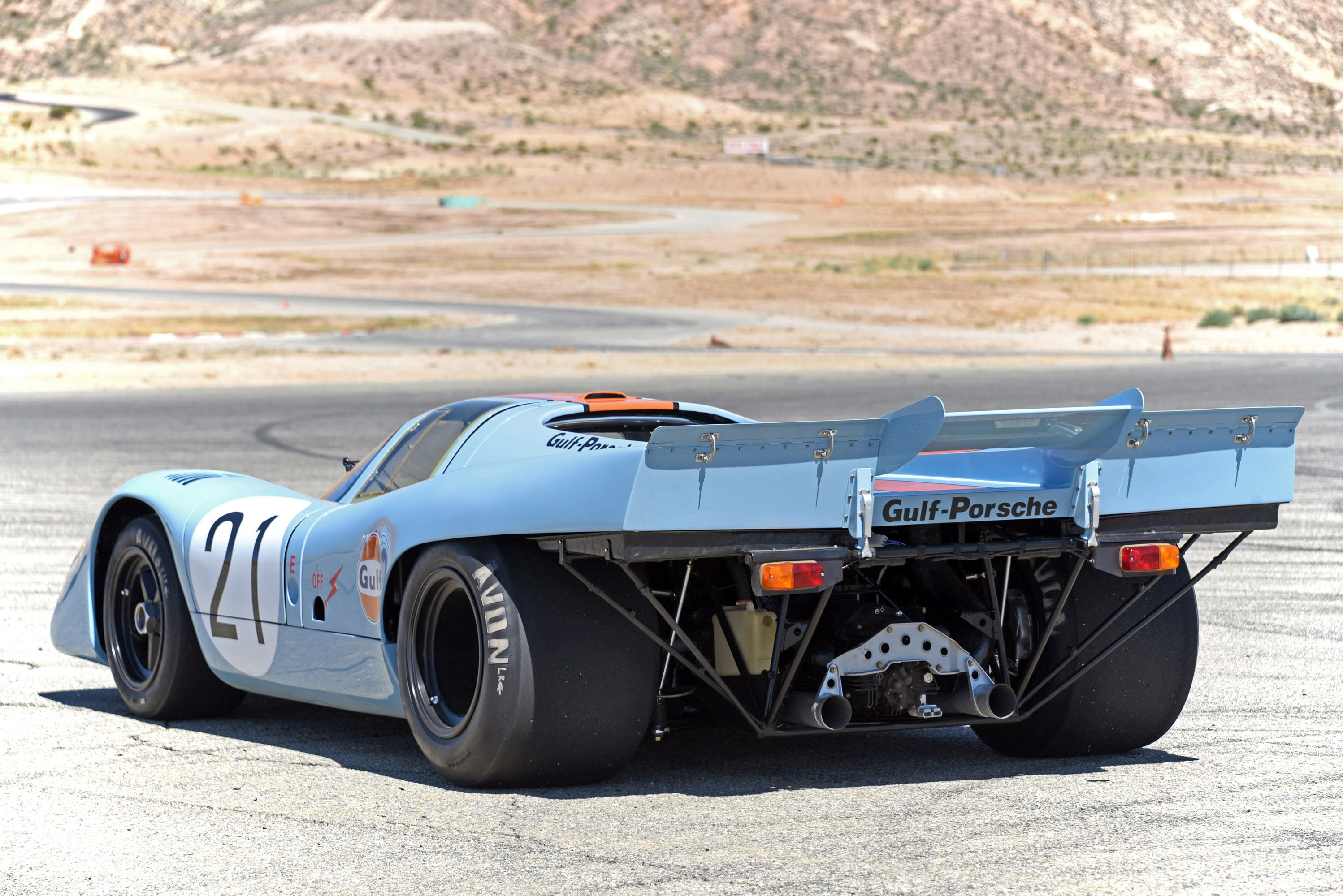 1971 Porsche 917k Receives Repair And Mainatanence