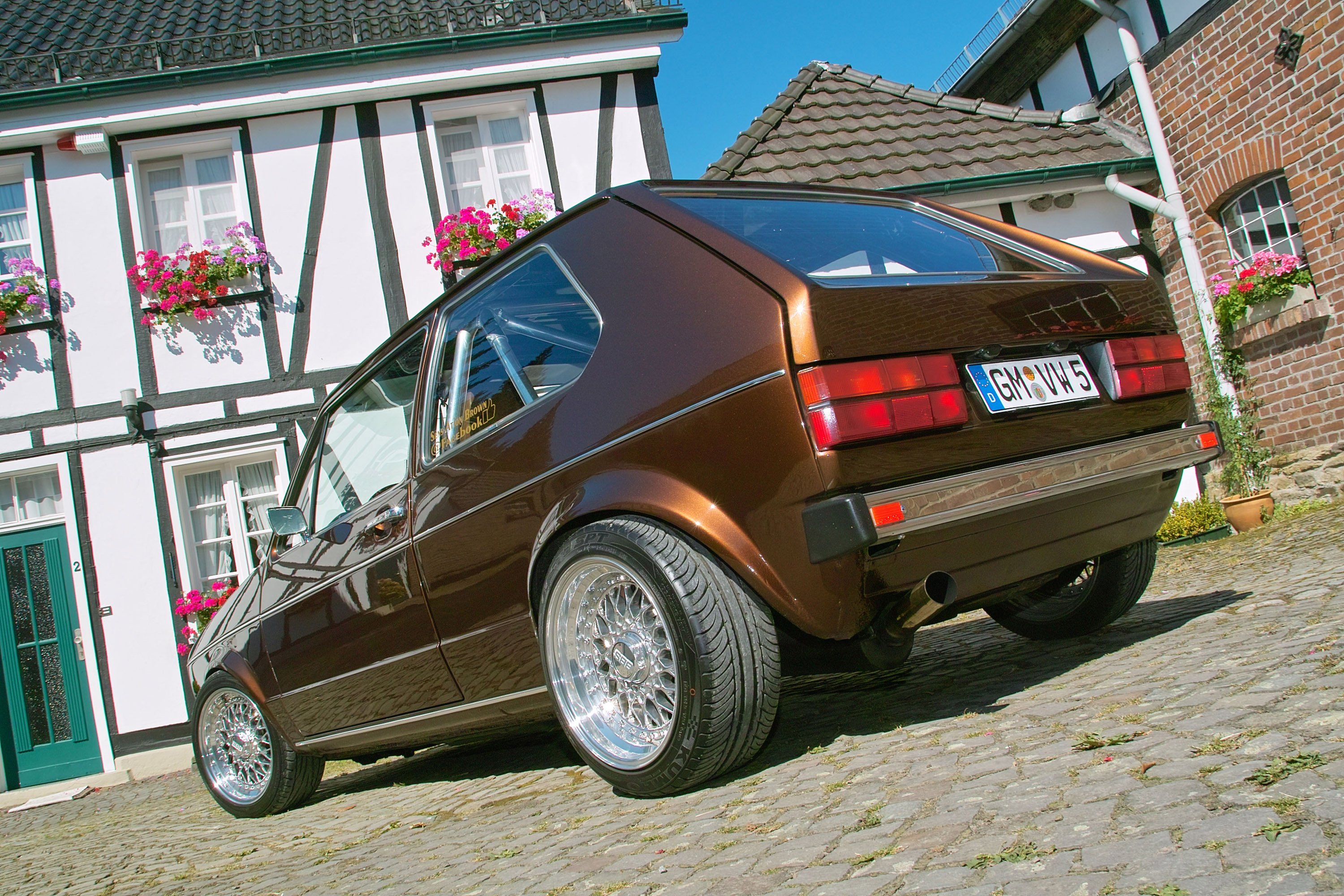 1983 Volkswagen Golf I Chocolate Brown Picture 73644