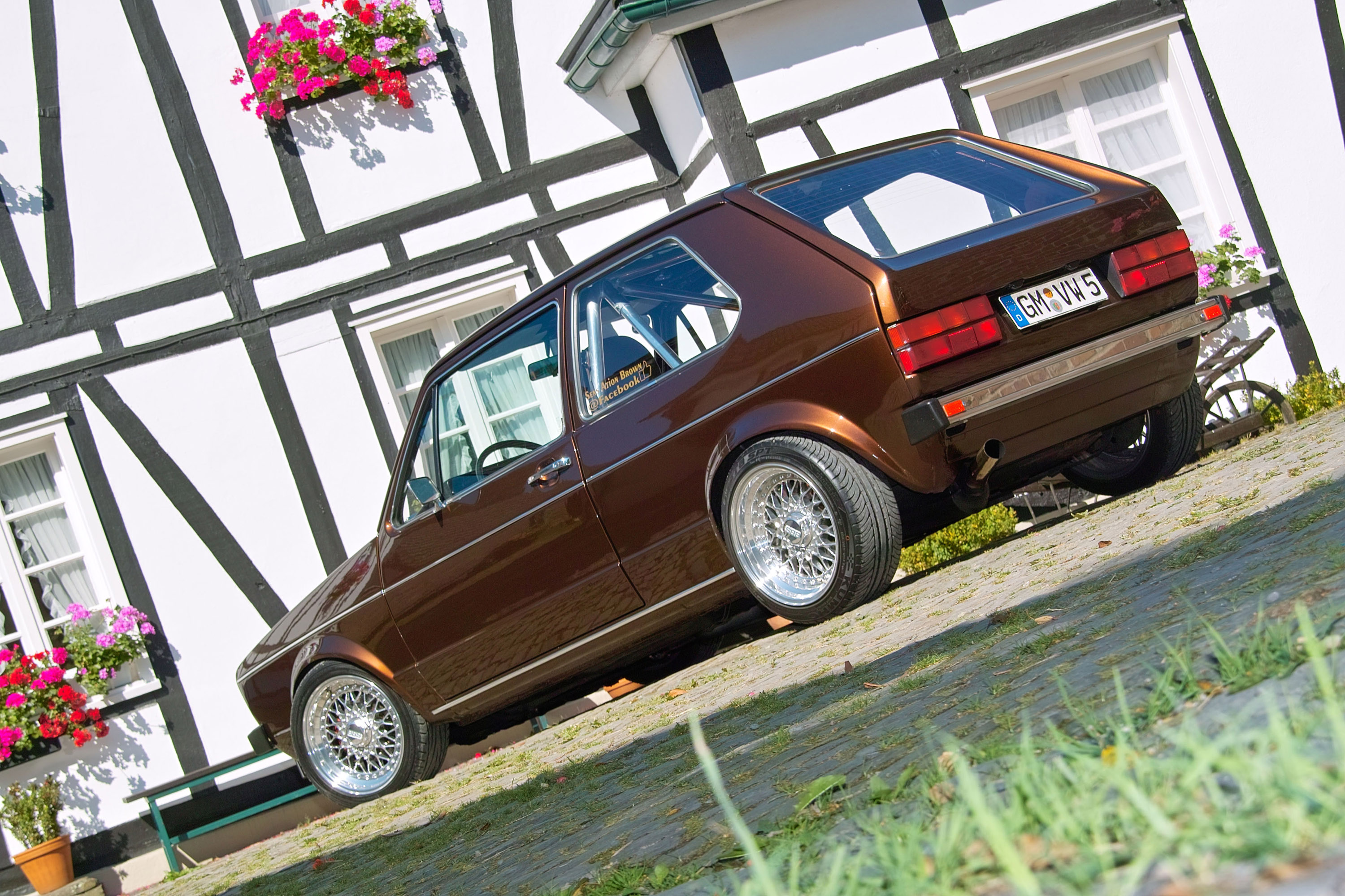 1983 Volkswagen Golf I Chocolate Brown Becomes Car of a Special Kind