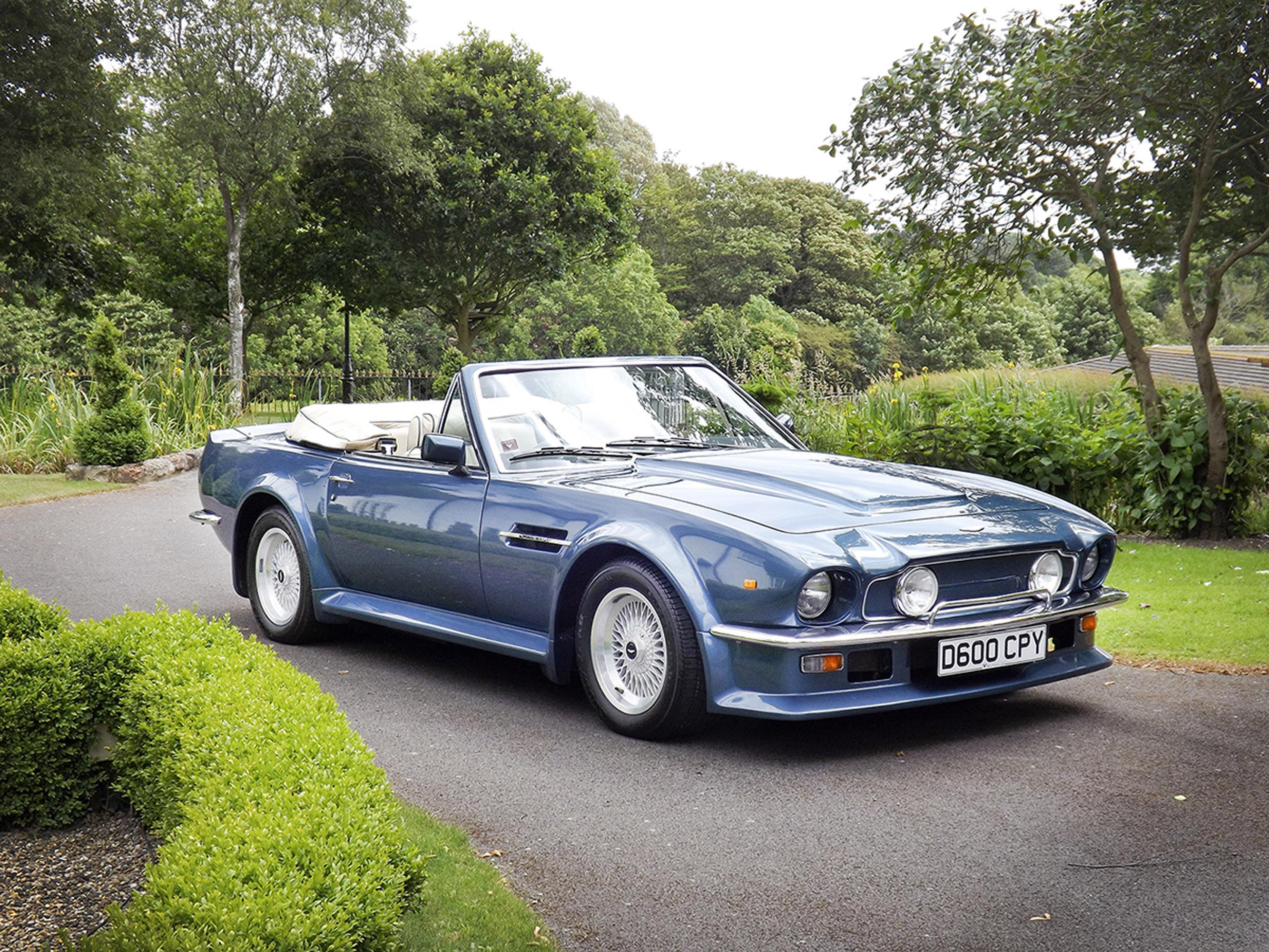 Silverstone Auctions Presents Rare Aston Martin Vantage