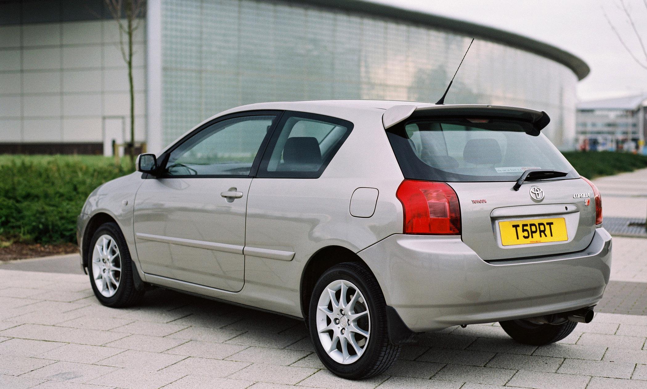 2002 Toyota Corolla T Sport Picture 76993
