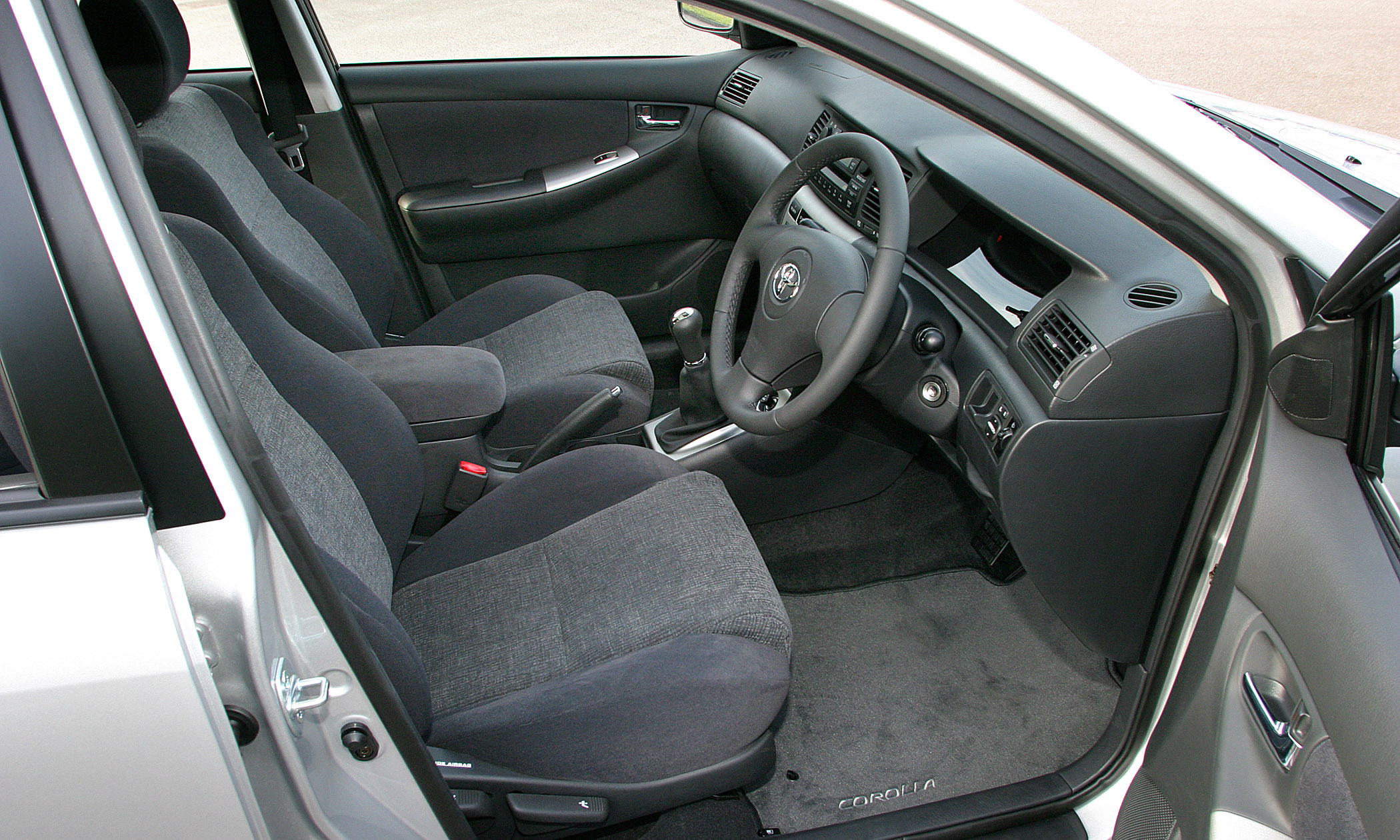2003 Toyota Corolla 2004 Car Interior Design