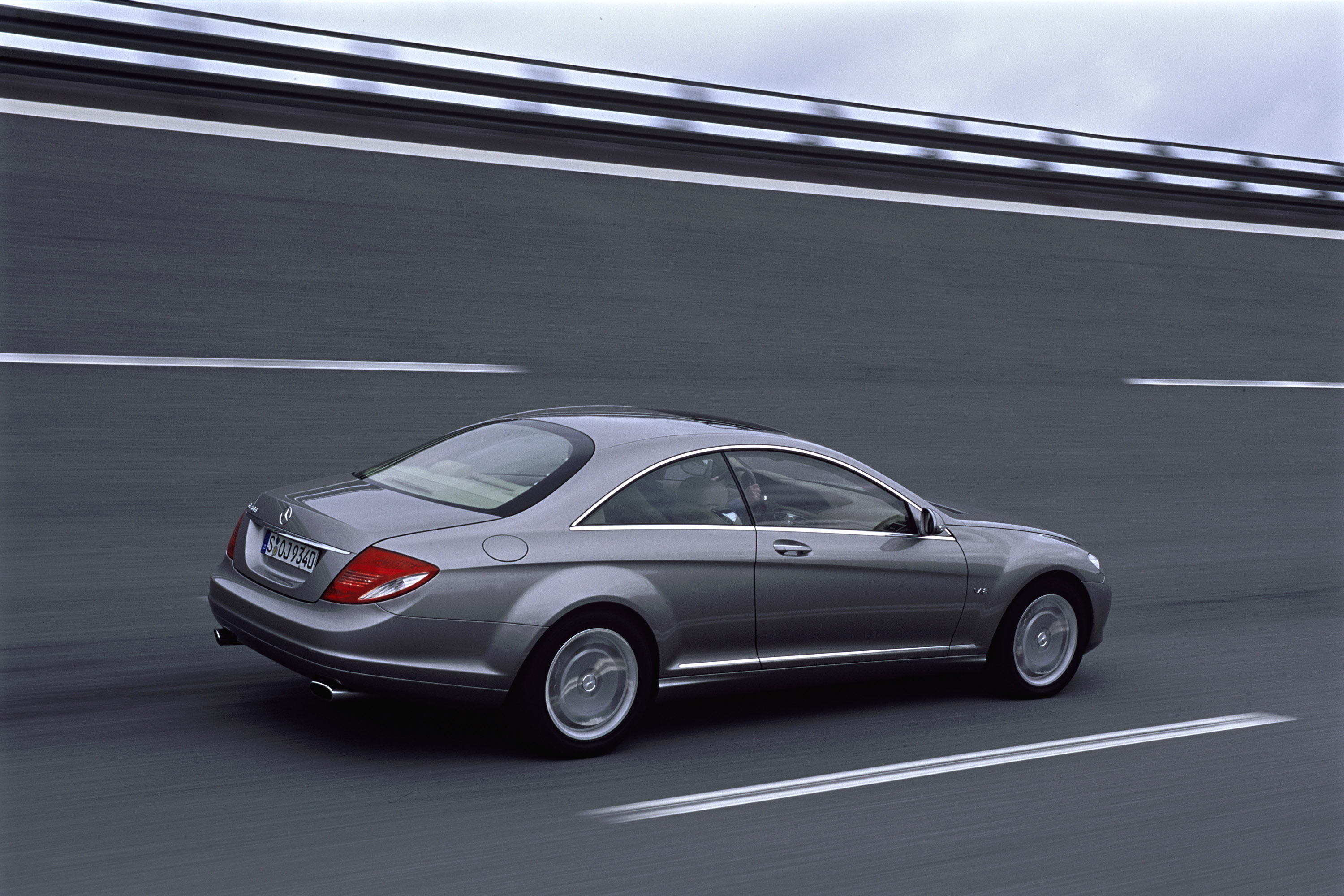2007 mercedes benz cl600 picture 93758 for Mercedes benz cl500 review