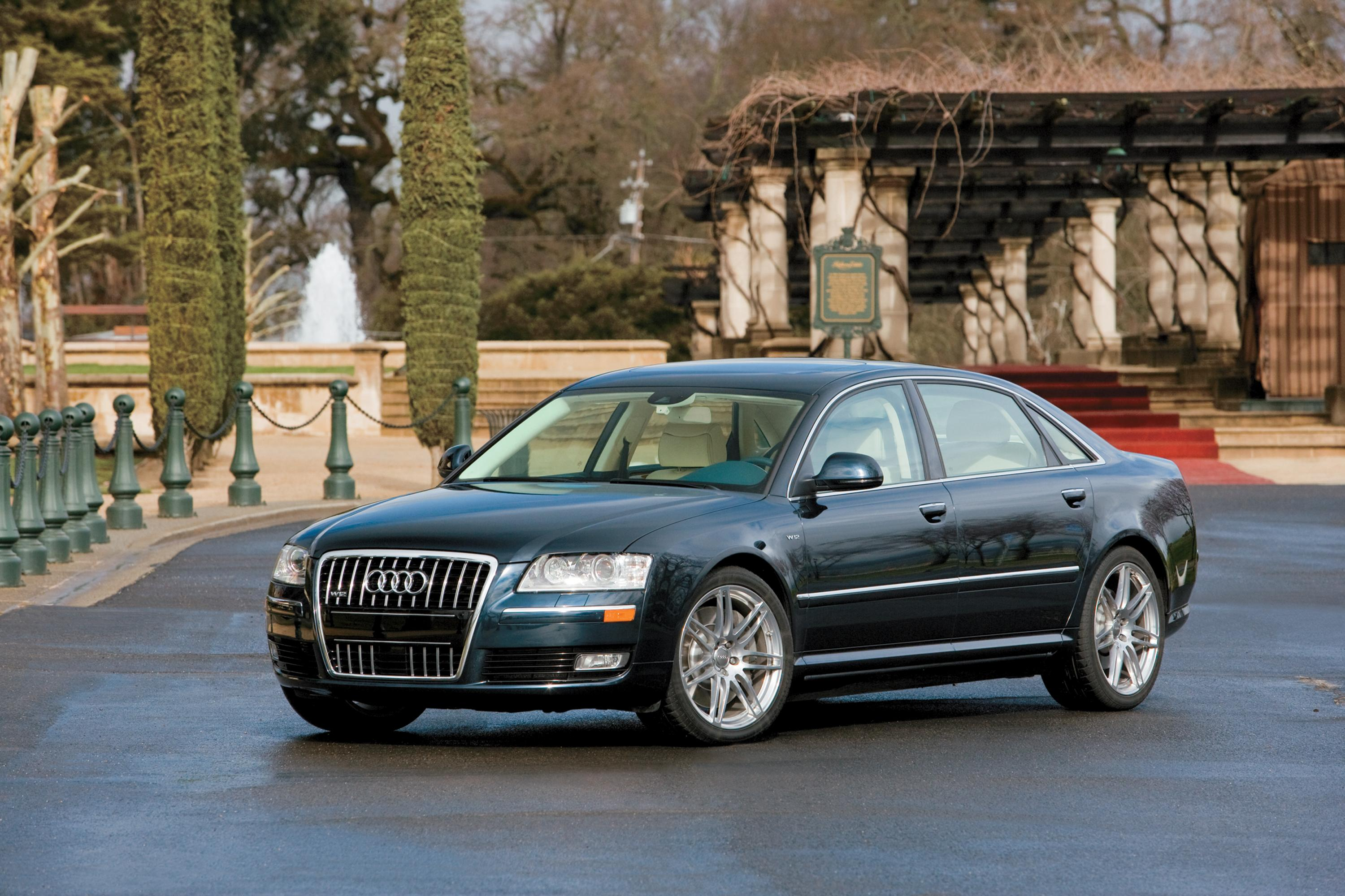 2008 audi a8 l picture 52800. Black Bedroom Furniture Sets. Home Design Ideas