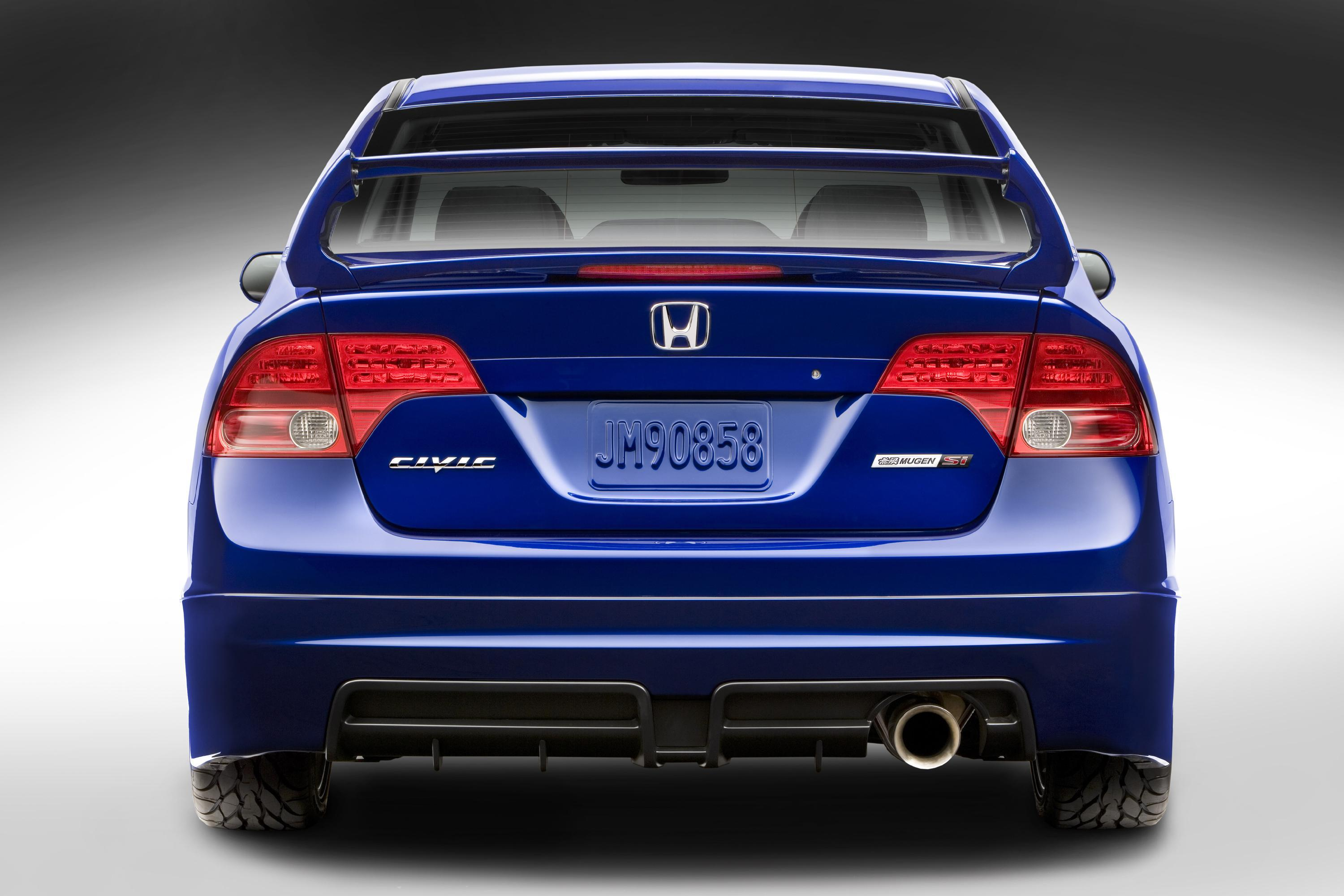 Honda Civic Mugen Si Sedan Picture 5401