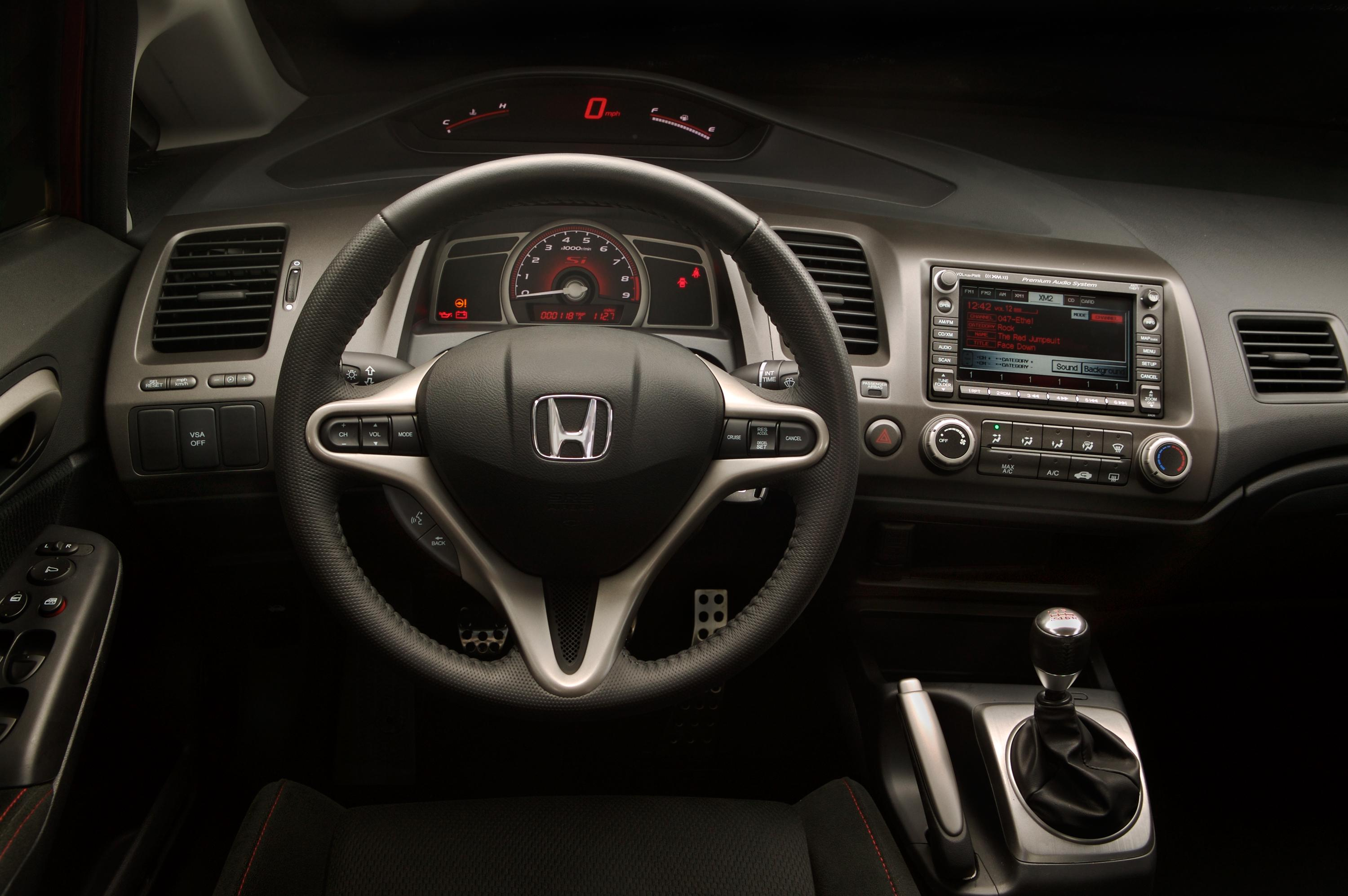 Honda Civic Si Sedan 2008 Picture 5372