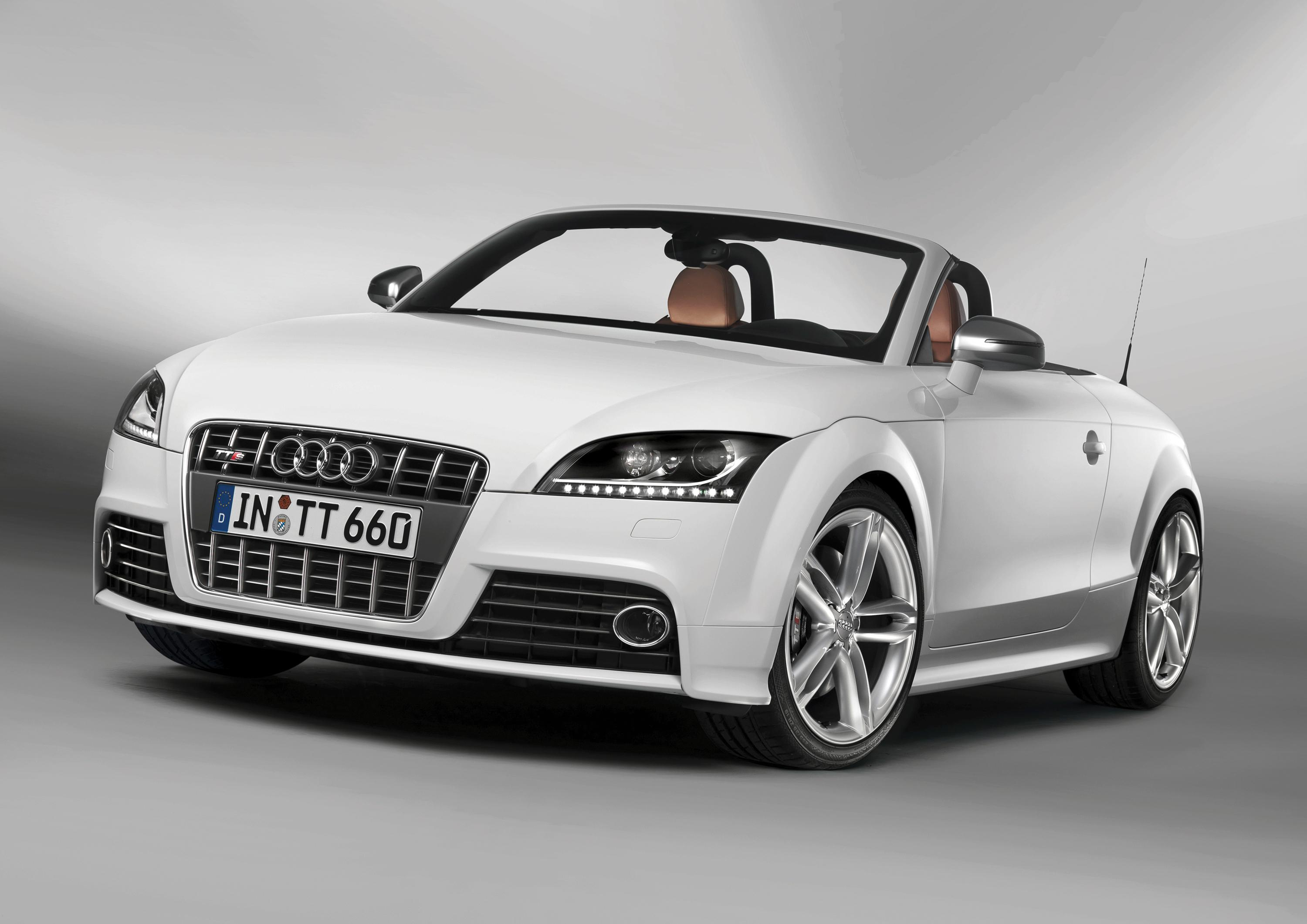 Audi sets 2009 MY prices for the all new TTS Coupe and TTS Roadster