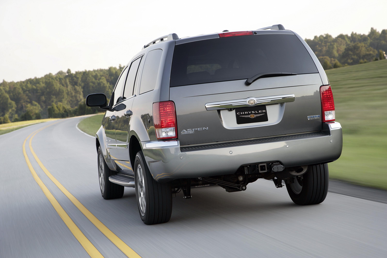 Chrysler aspen hybrid fuel economy #5