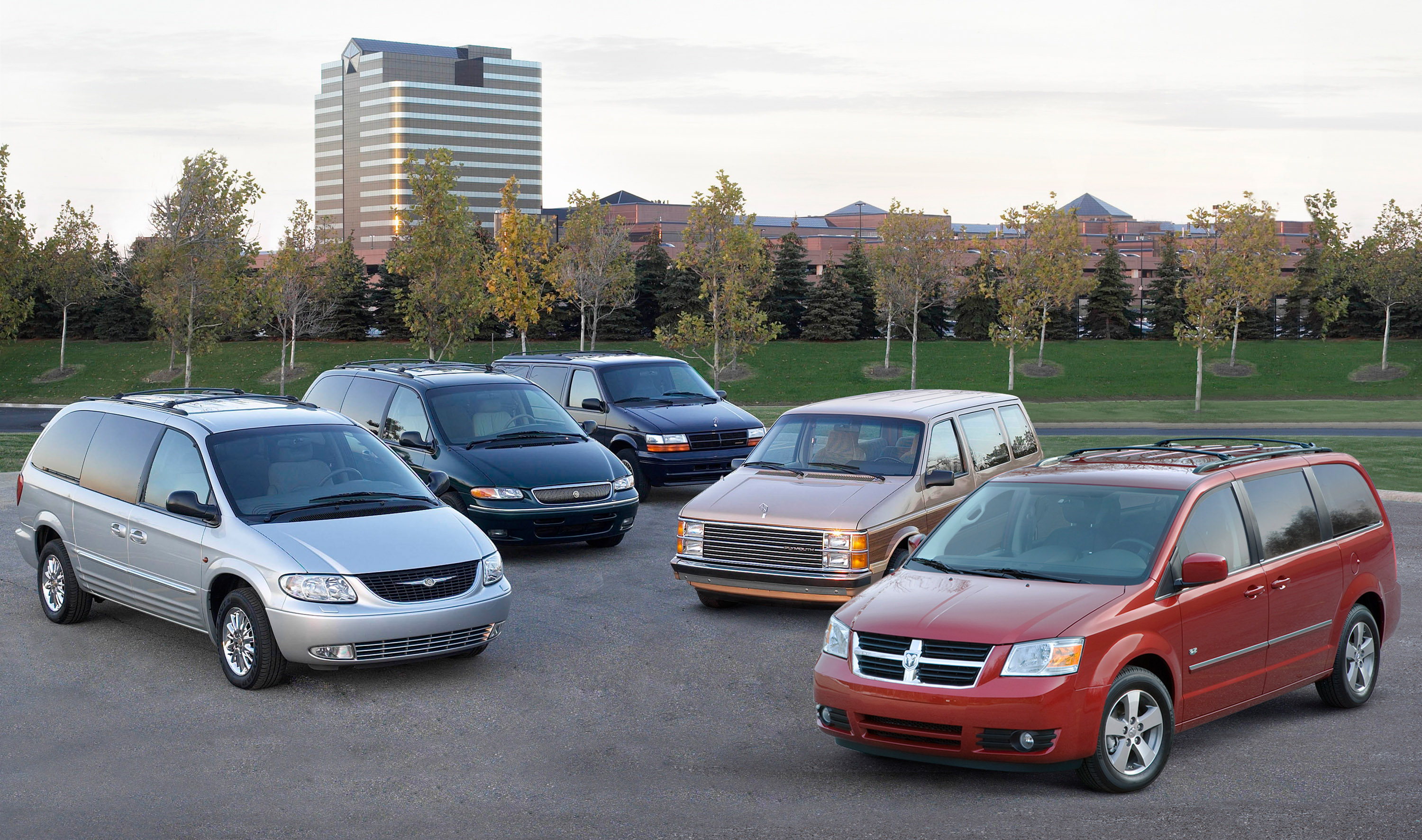 25th Anniversary Edition Chrysler And Dodge Minivans