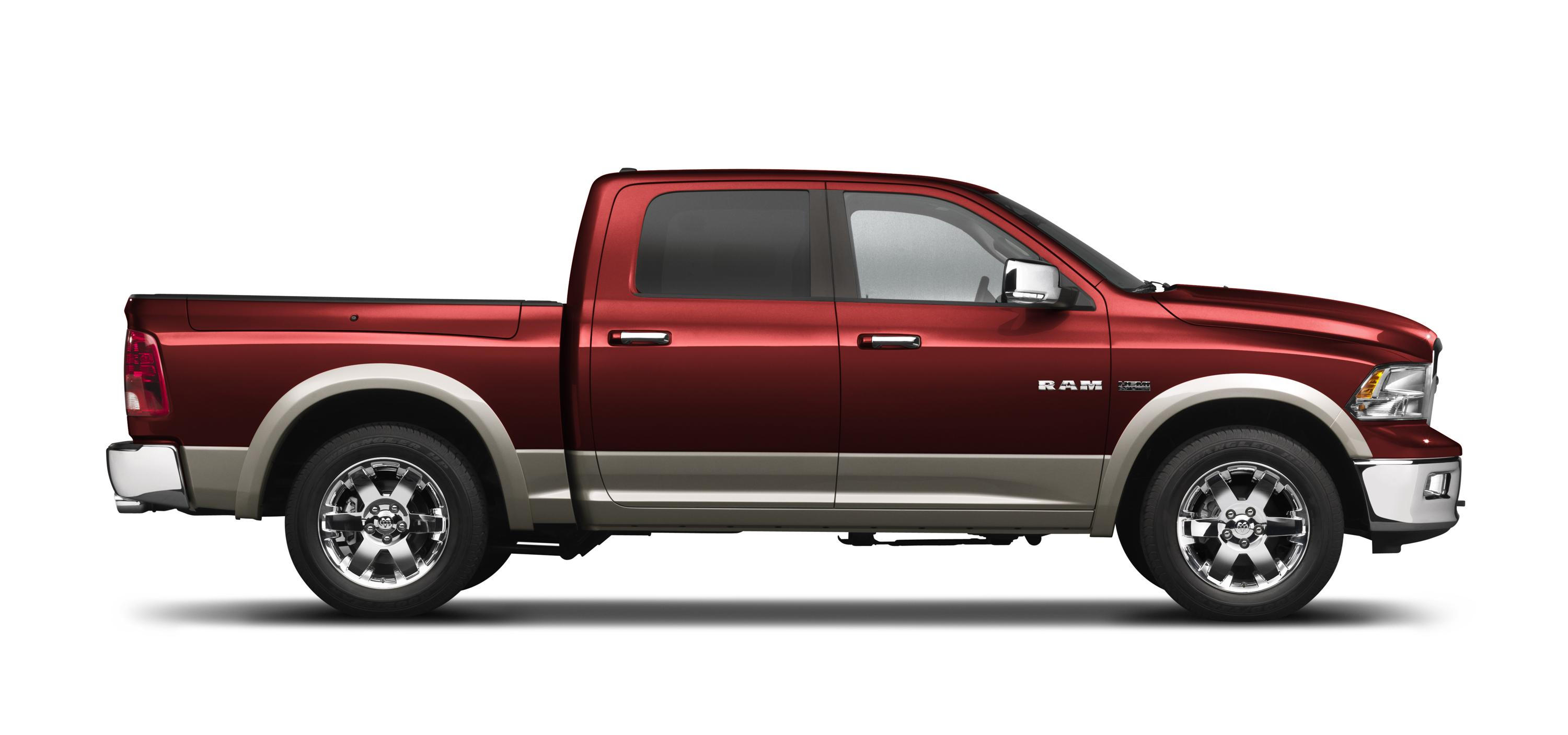 "All-new 2009 Dodge Ram Named ""Full-Size Pickup Truck of Texas"""