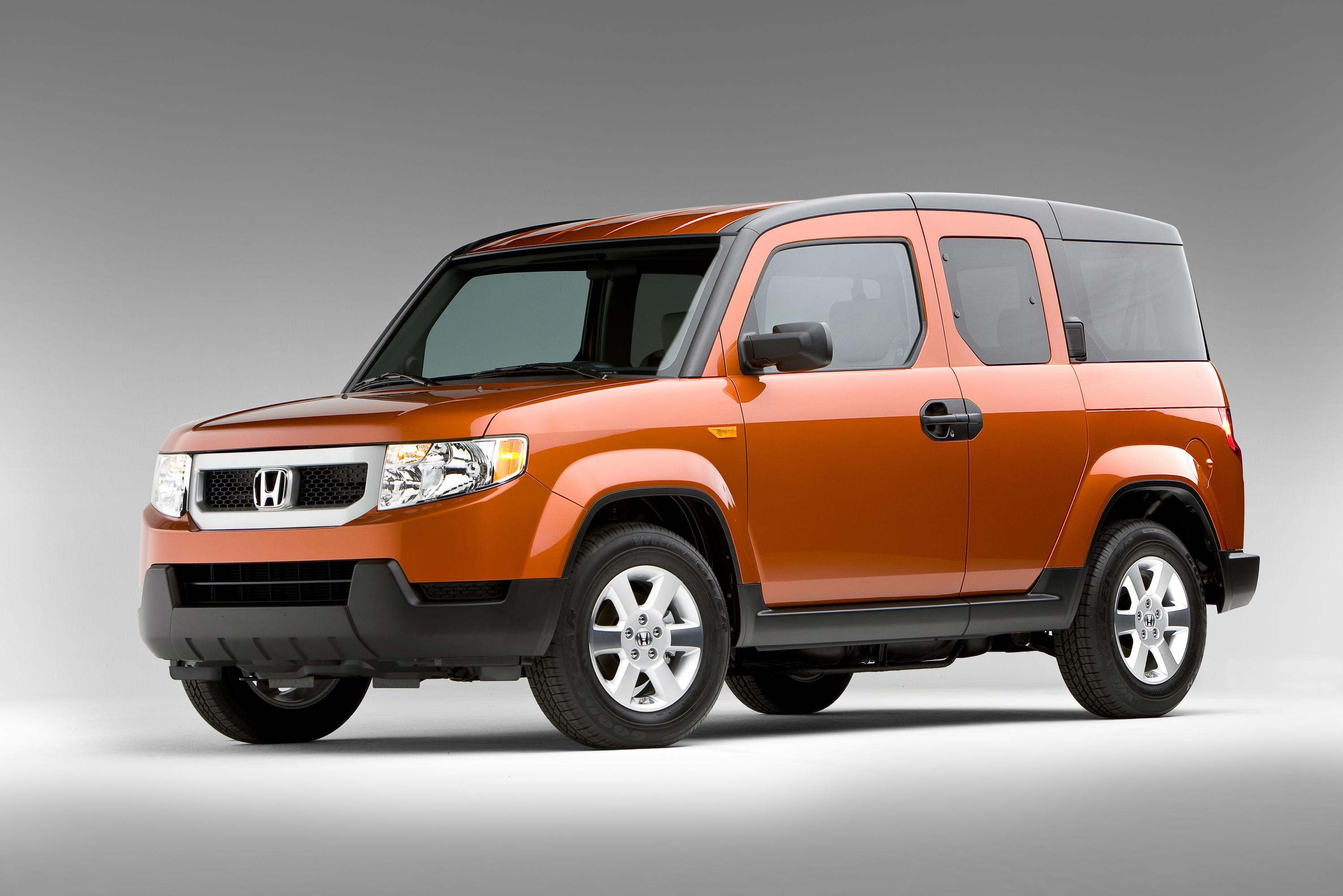 restyled 2009 honda element offers new high tech functional features. Black Bedroom Furniture Sets. Home Design Ideas