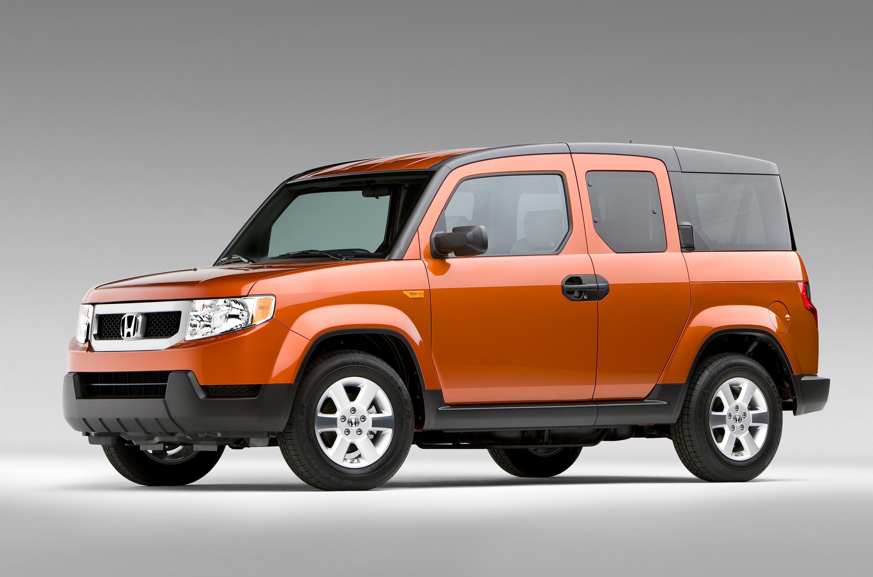 Restyled 2009 Honda Element Offers New High Tech