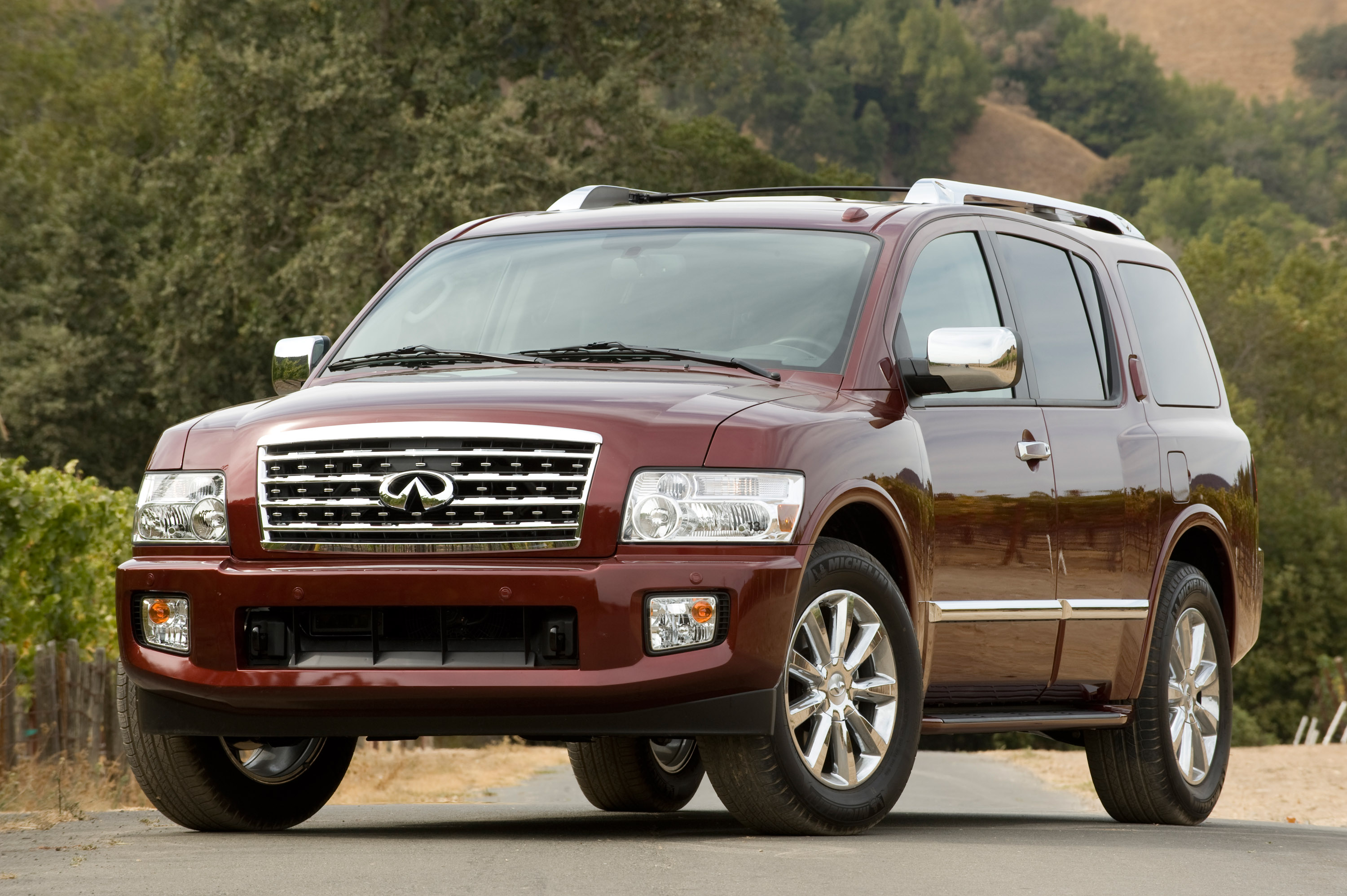 exterior base suv price reviews front photos view side features infiniti infinity