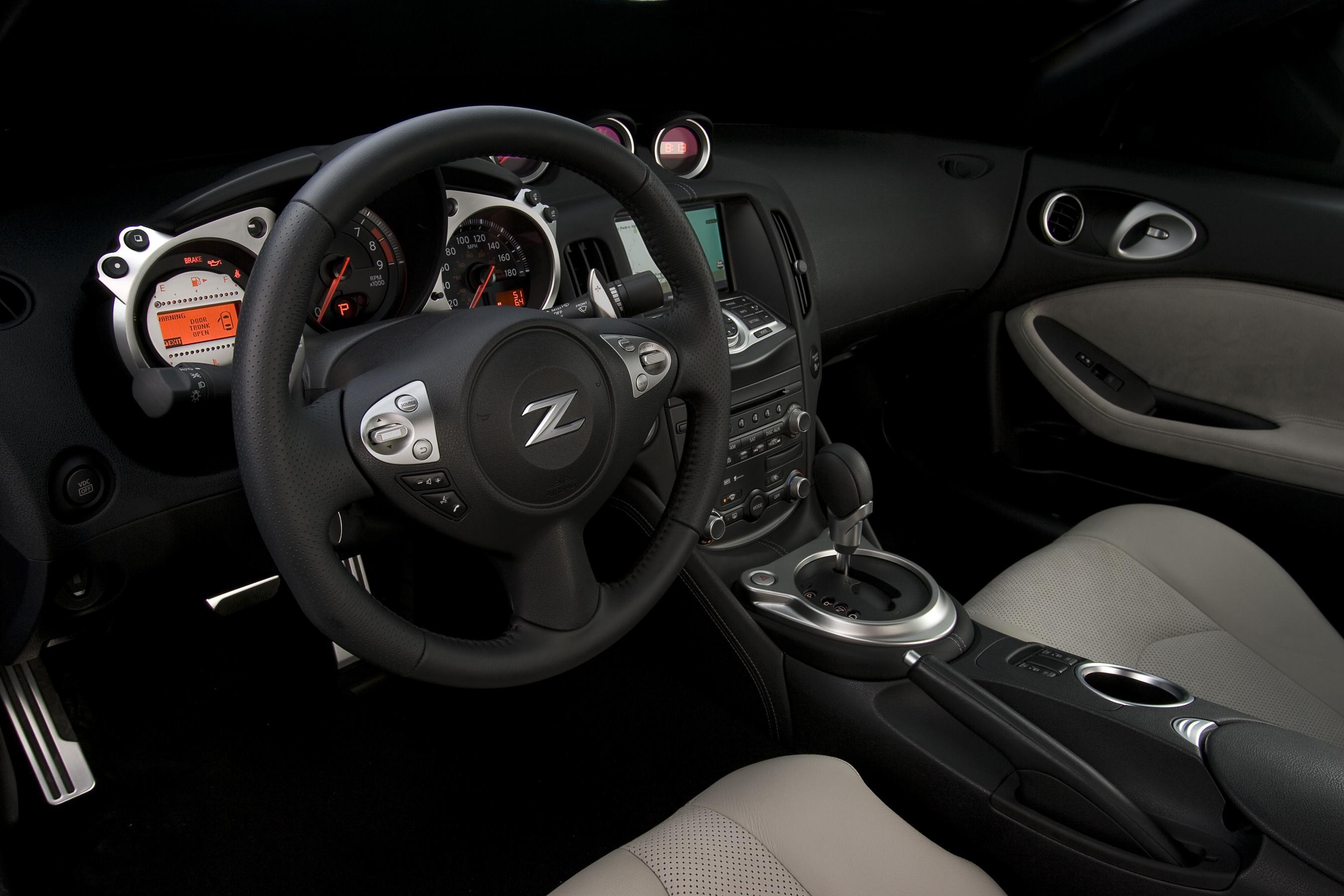 Nissan 370z more agile more compact more enjoyable 2009 nissan 370z vanachro Image collections
