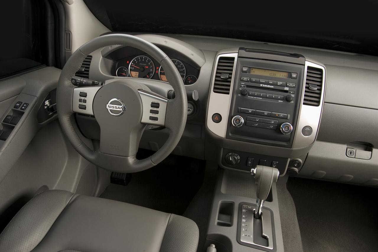 2009 nissan xterra and frontier feature refreshed styling nissan frontier 2009 vanachro Gallery