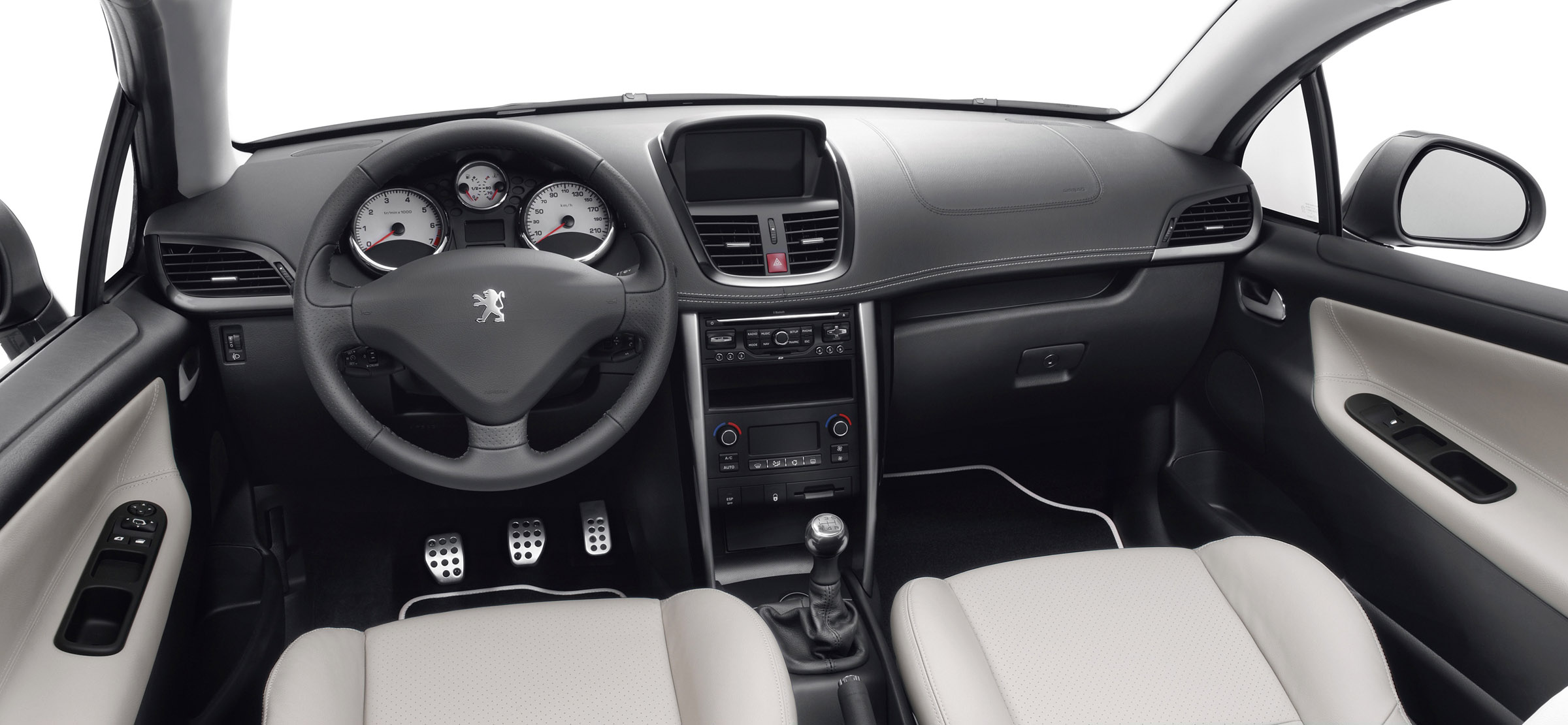 The restyled peugeot 207 cc in detail for Peugeot 207 interior