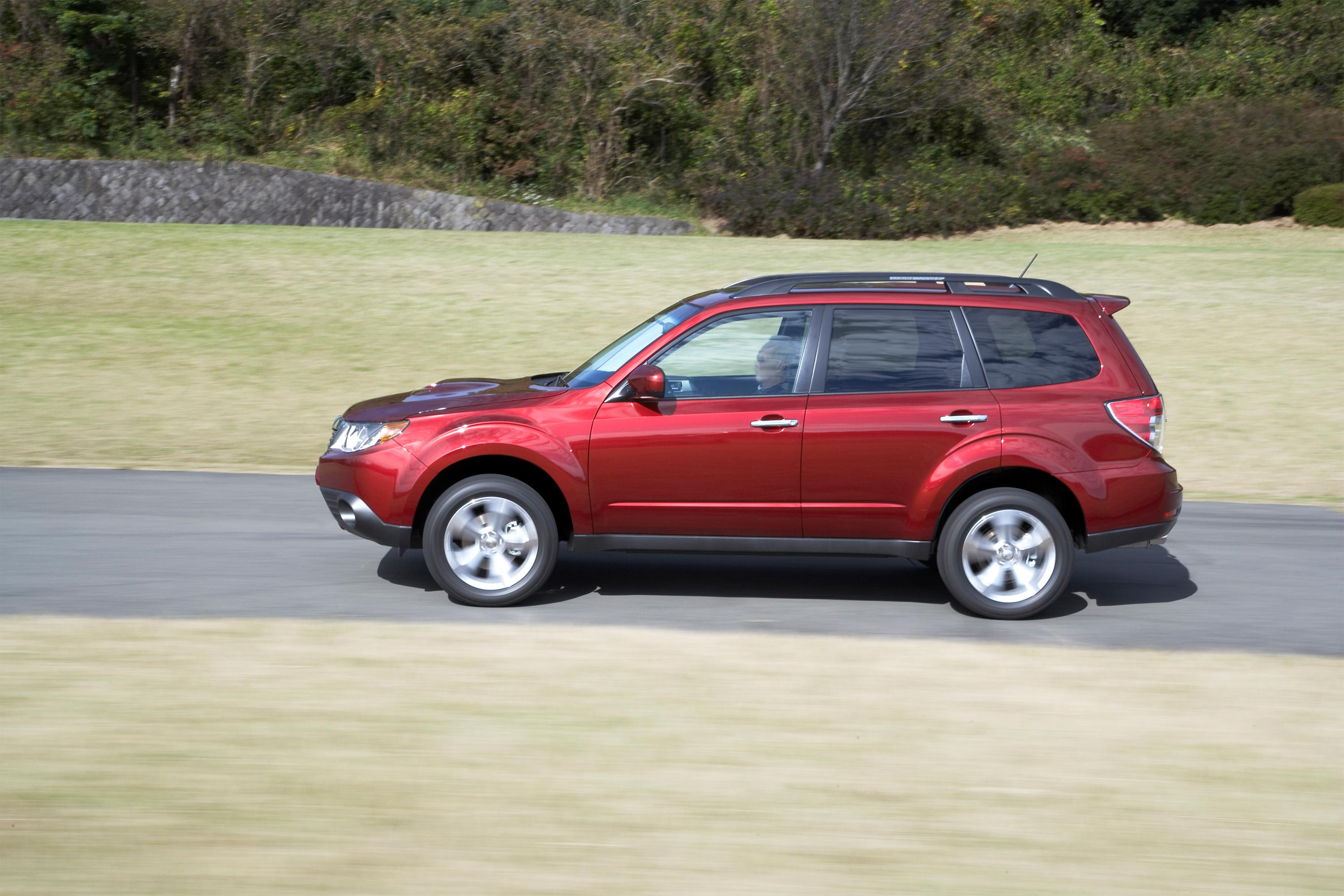 Subaru Forester Named Motor Trend 2009 Sport Utility Of