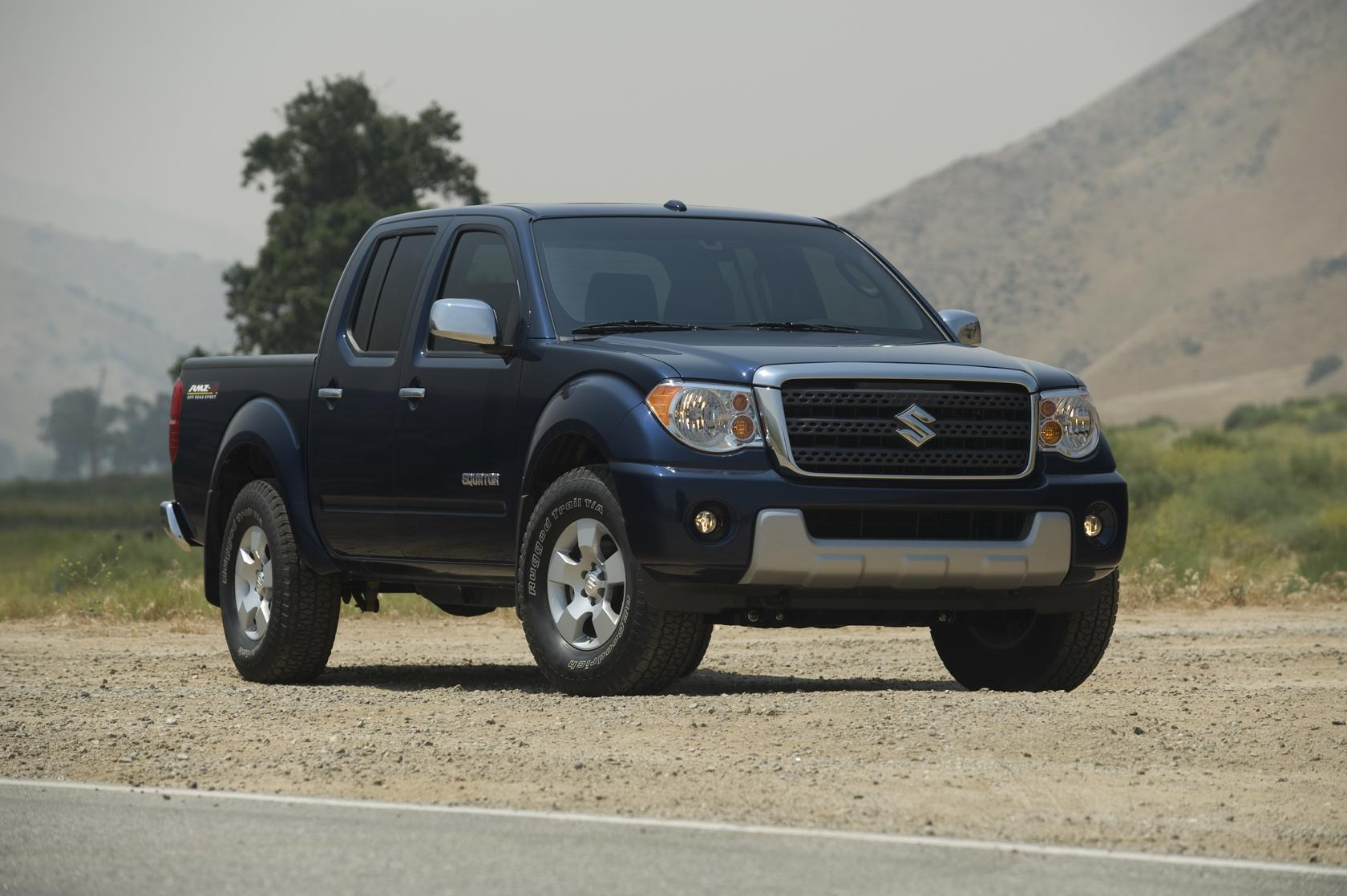 Truck Towing Capacity >> Suzuki Announces Pricing For Award-Winning Equator Pickup ...