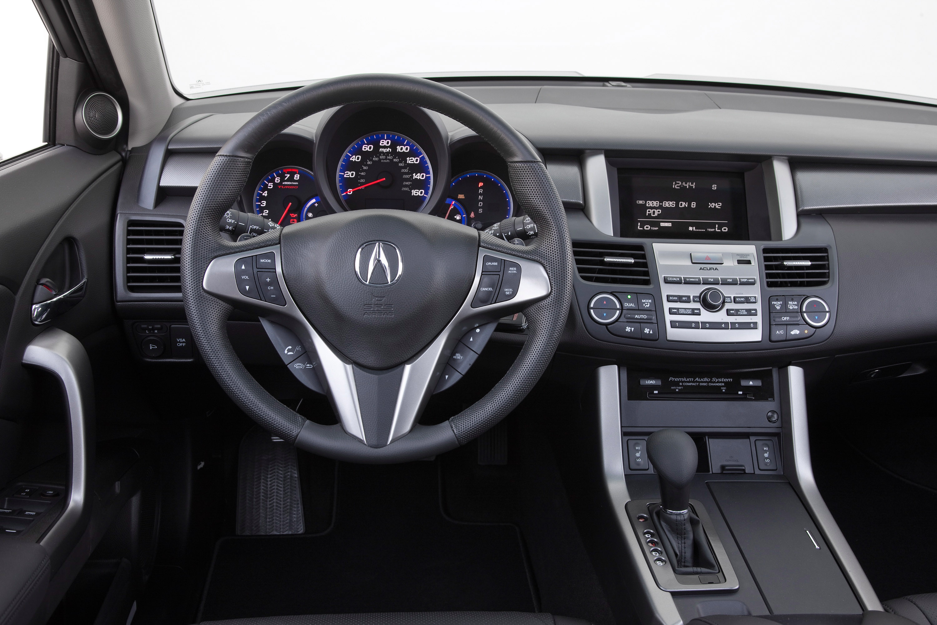 acura rdx turbocharged crossover full with upgrades and options