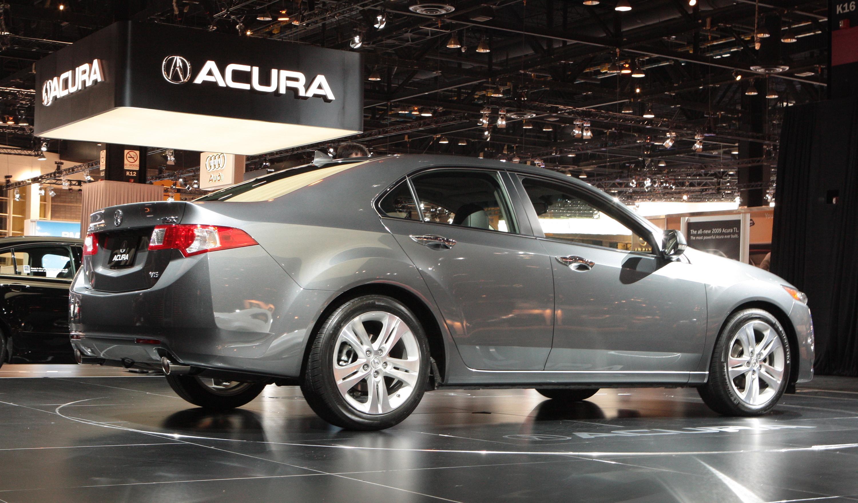 2010 Acura TSX V-6 Car Show