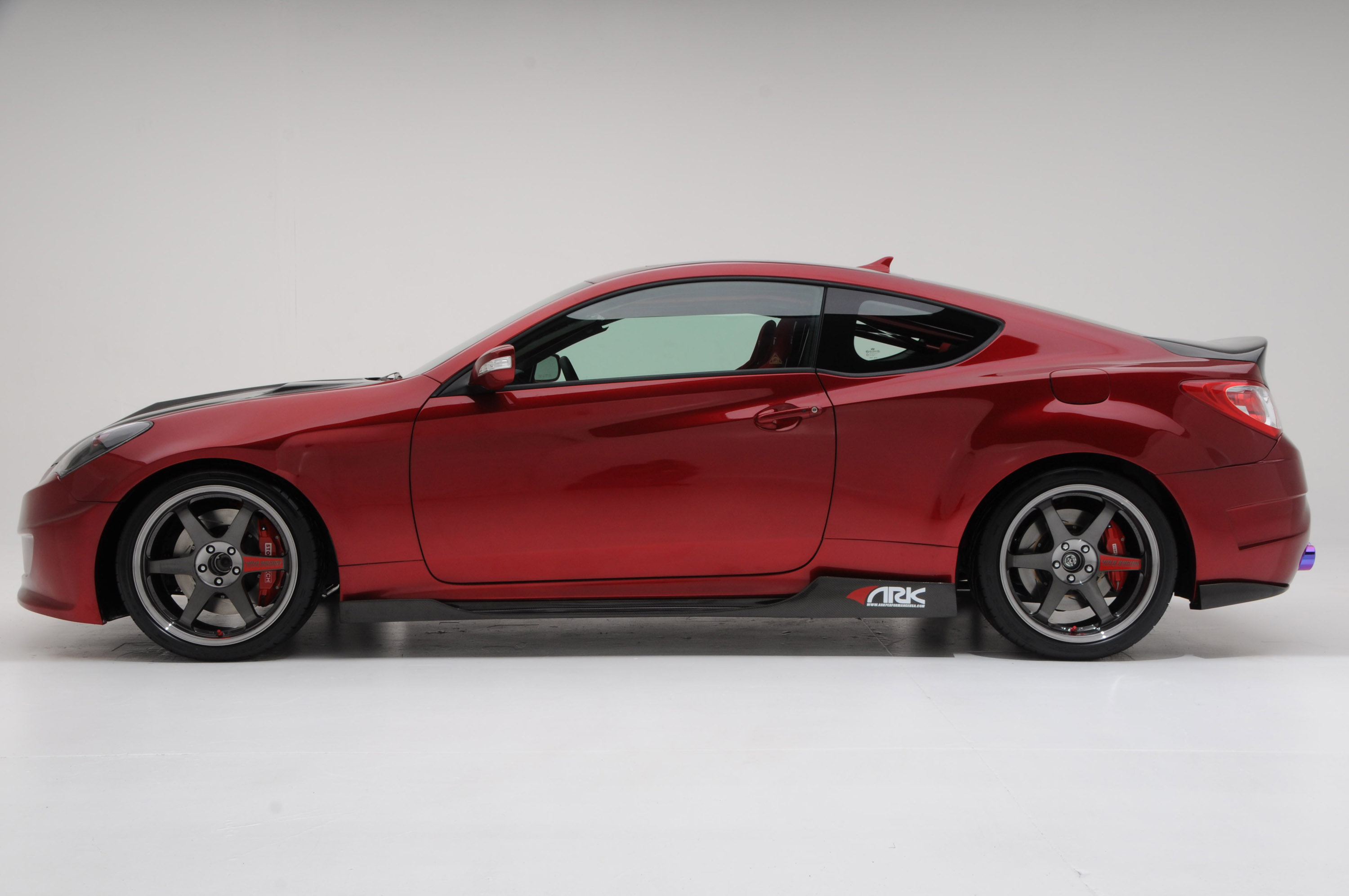 Sema 2010 Preview Ark Track Time Attack Genesis Coupe 3 8l