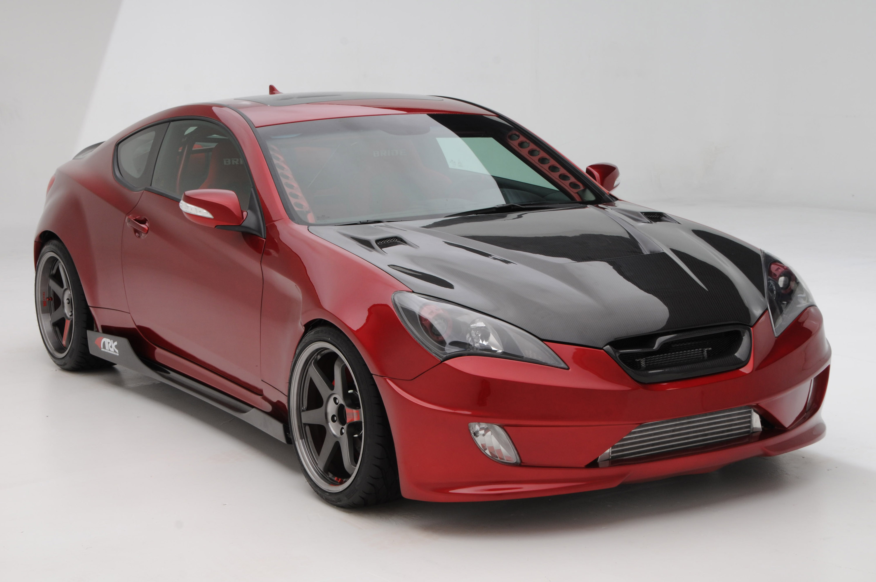 sema 2010 preview ark track time attack genesis coupe 3 8l. Black Bedroom Furniture Sets. Home Design Ideas