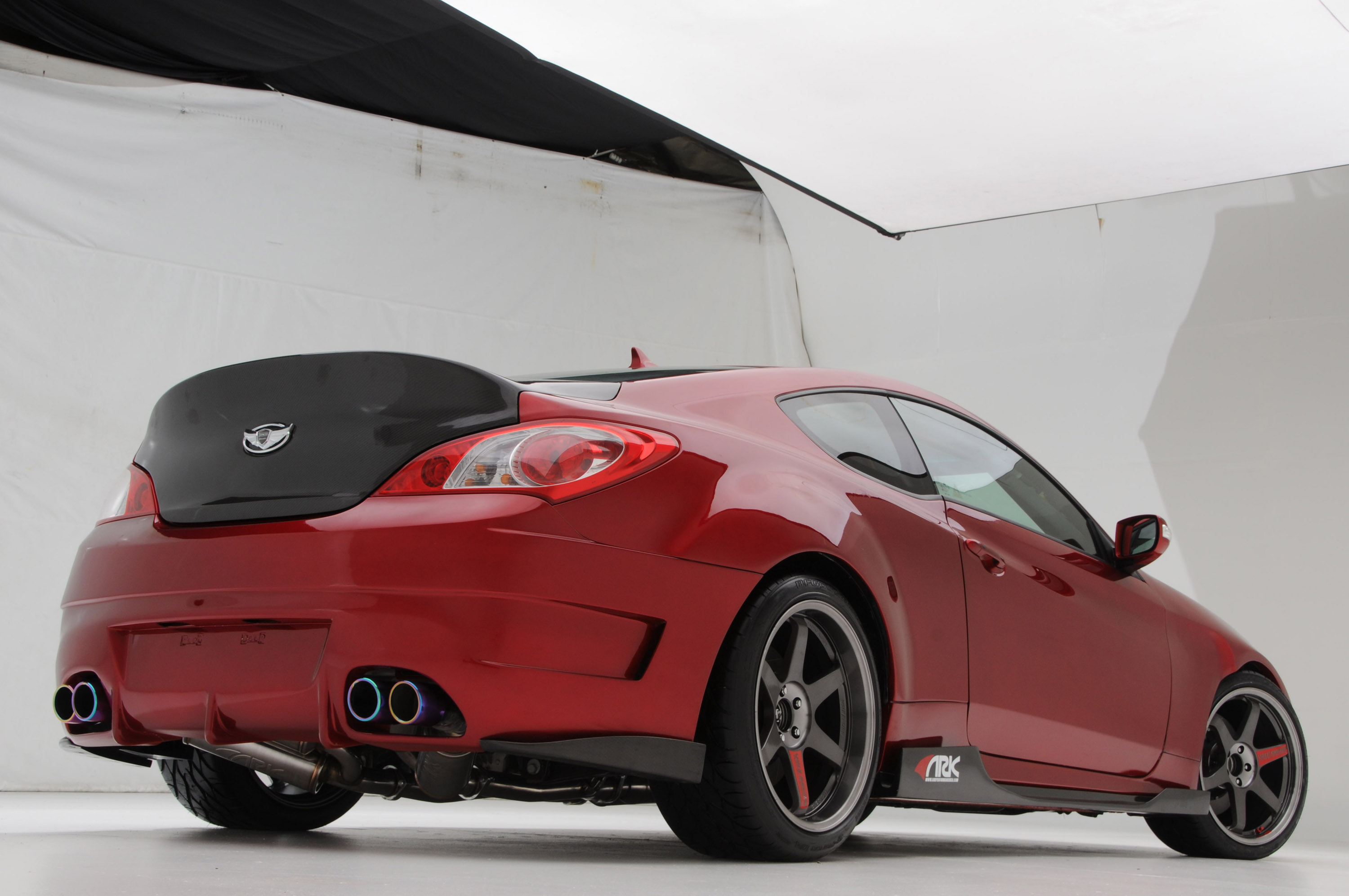 Superb ARK Performance Hyundai Genesis Coupe