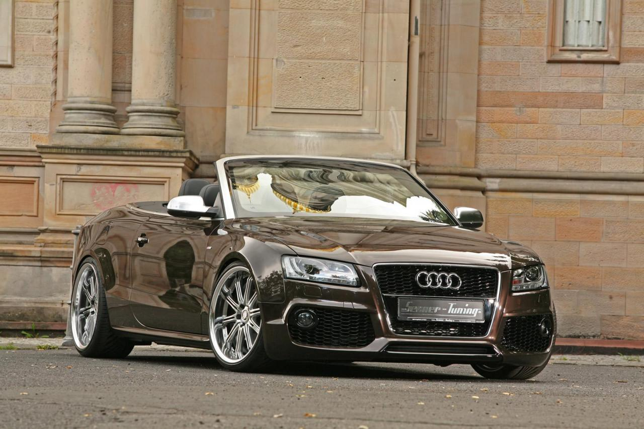 audi a5 cabrio refined by senner tuning gorgeous. Black Bedroom Furniture Sets. Home Design Ideas