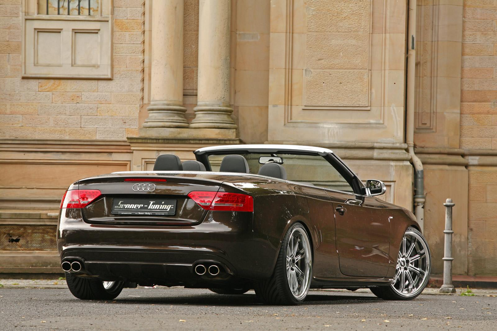 Audi A5 Cabrio Refined By Senner Tuning Gorgeous
