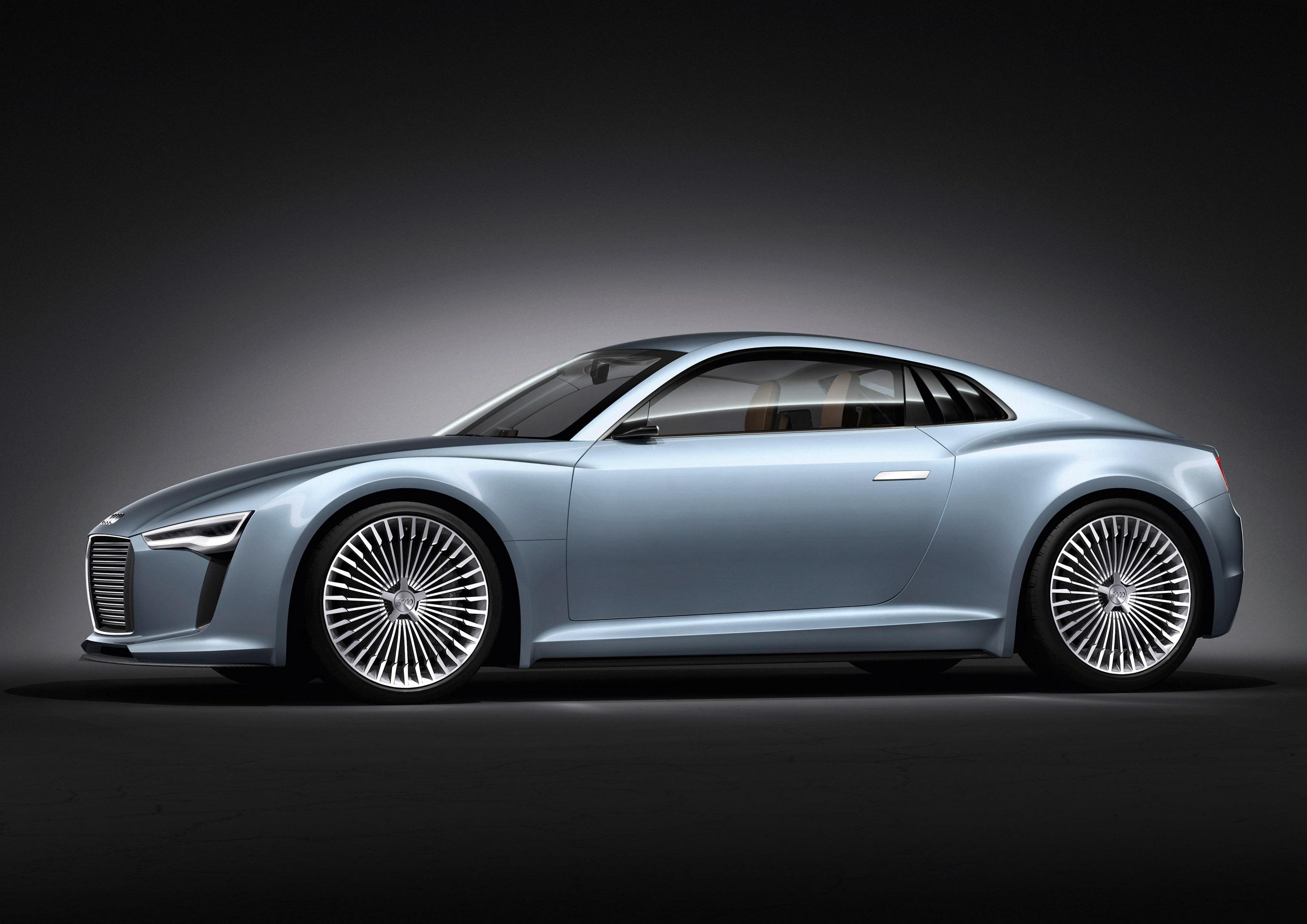 2010 Audi e-tron Detroit Showcar Mercedes-Benz presents a C 350 ...