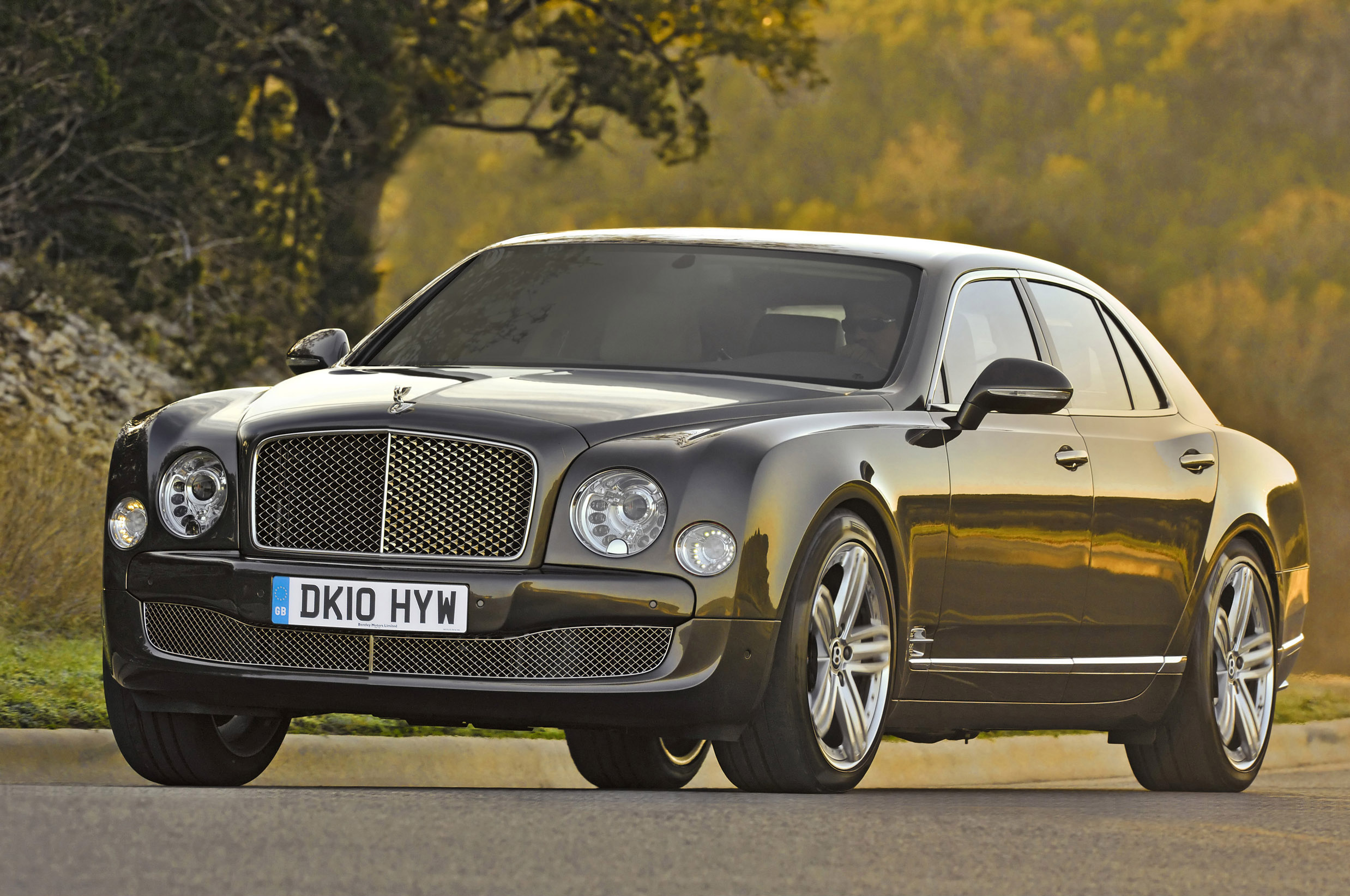 Bentley Mulsanne under a wide range of tests and checks