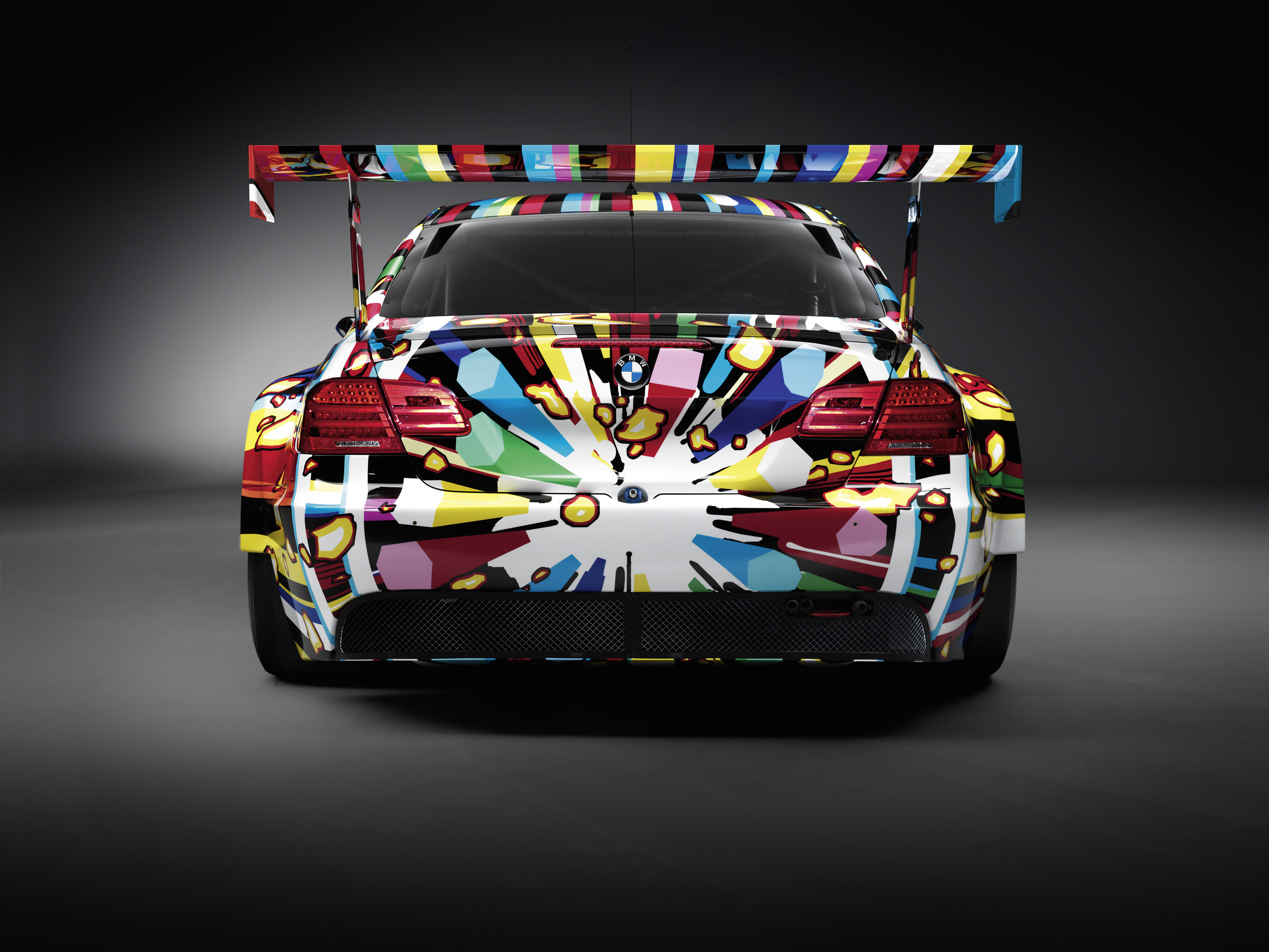 bmw m3 gt2 art car by jeff koons. Black Bedroom Furniture Sets. Home Design Ideas