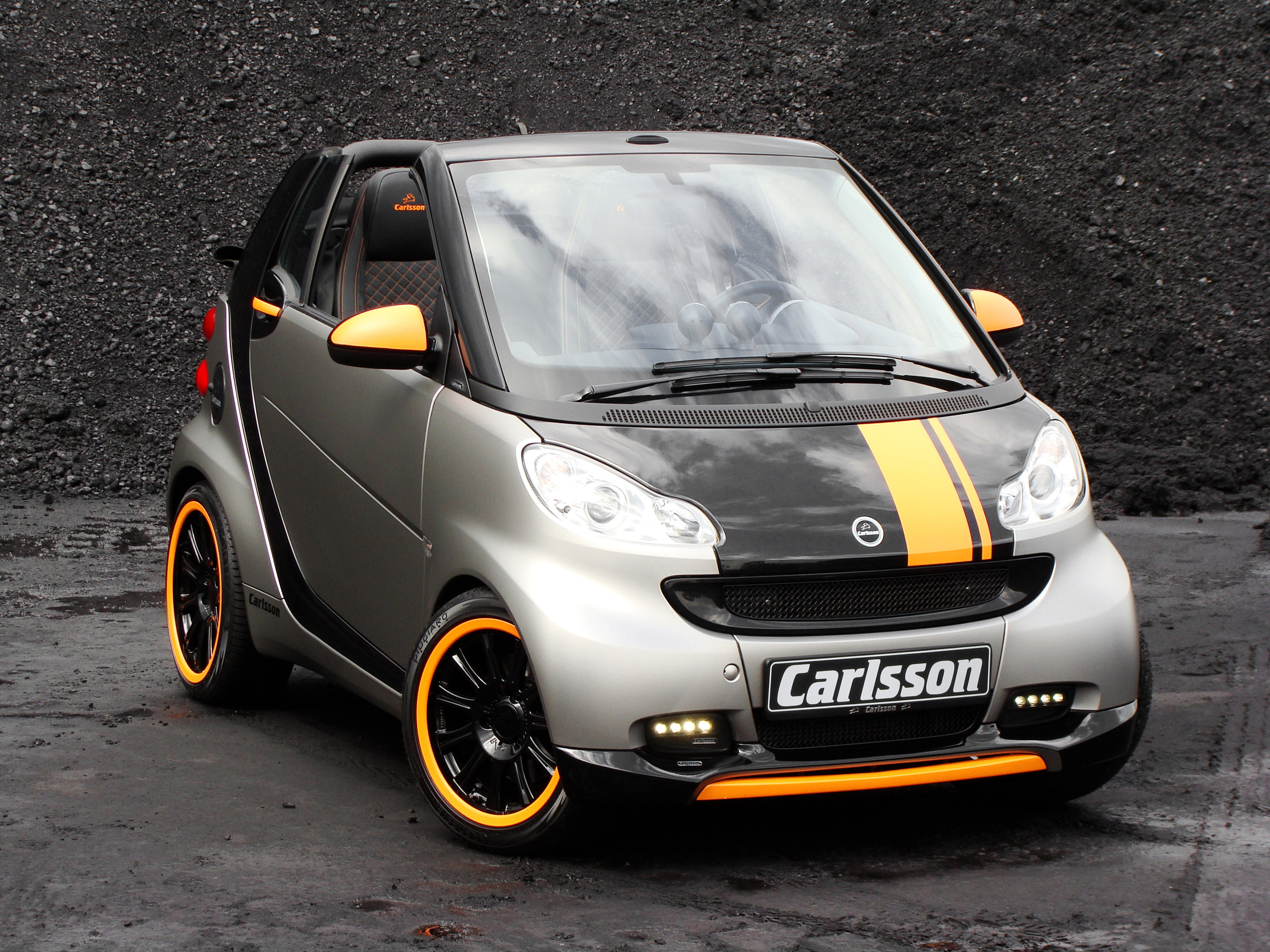 carlsson tuning package for smart fortwo coupe and convertible. Black Bedroom Furniture Sets. Home Design Ideas