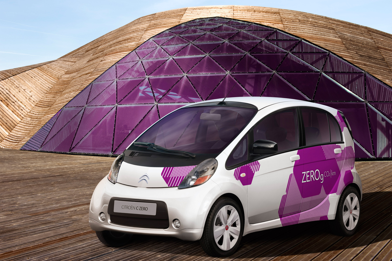 citroen c zero compact electric vehicle. Black Bedroom Furniture Sets. Home Design Ideas