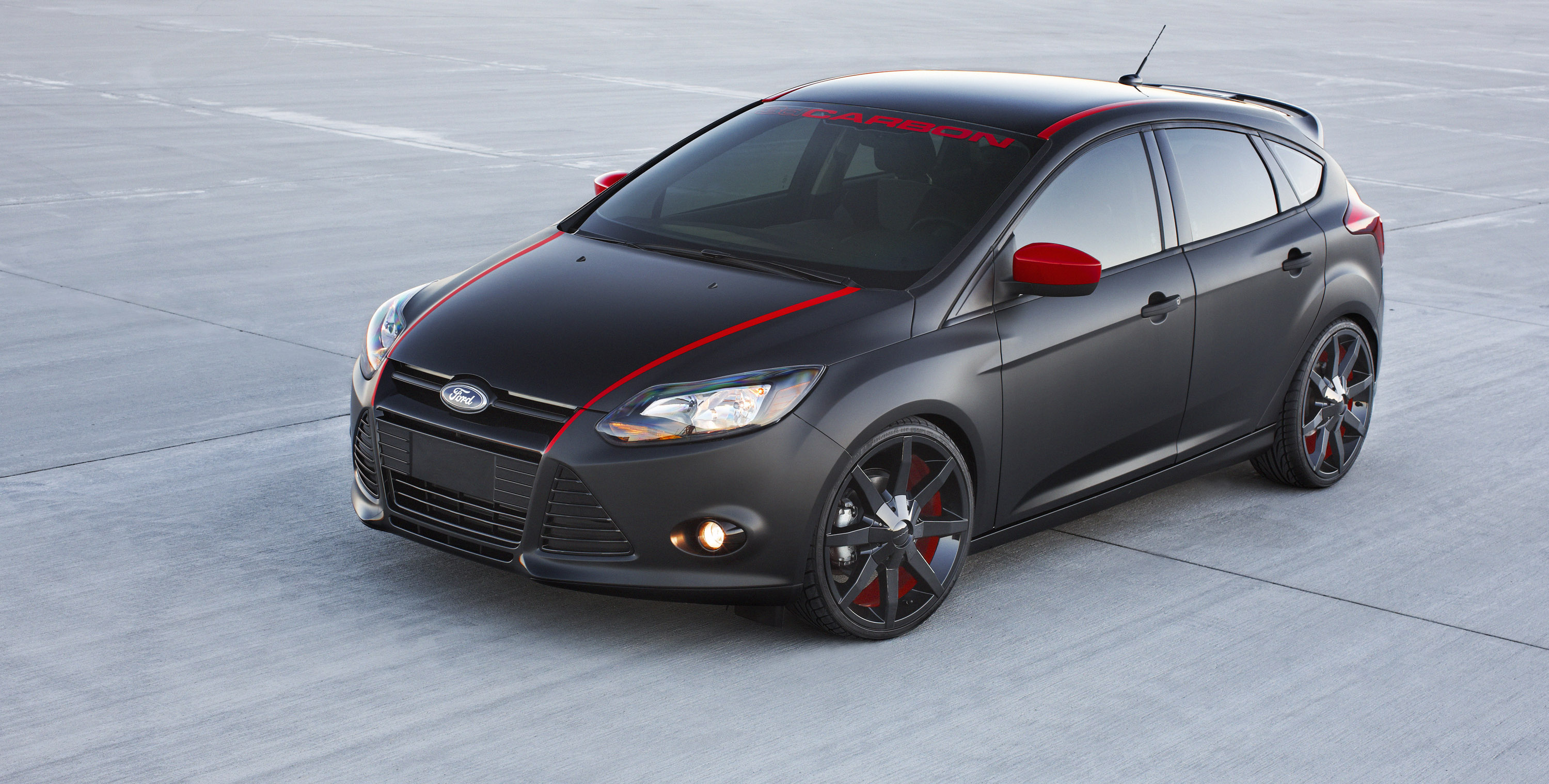 2012 ford focus special editions personalization fswerks and 3dcarbon. Black Bedroom Furniture Sets. Home Design Ideas