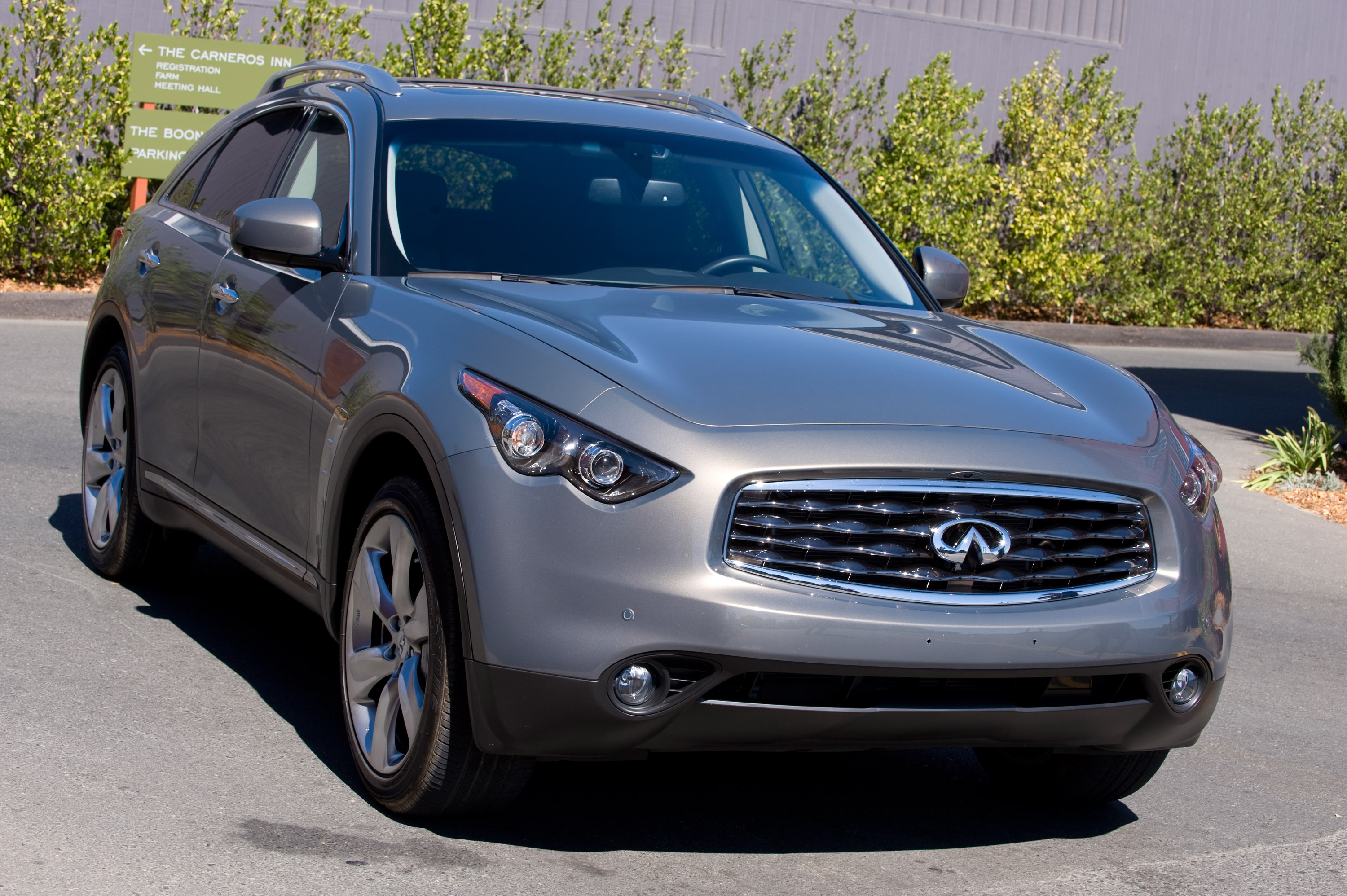 2010 infiniti fx pricing announced 2010 infiniti fx vanachro Image collections