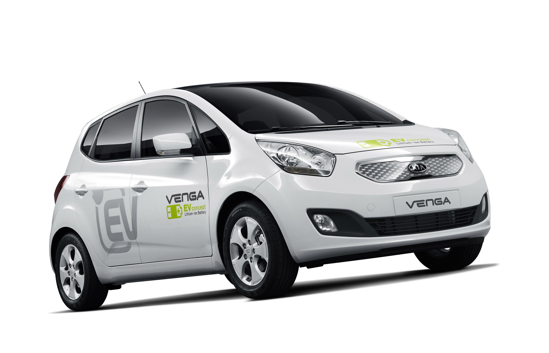 2010 Kia Venga Plug In Electric Concept