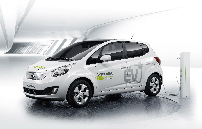 2010 Kia Venga Plug In Electric Concept 2 Of