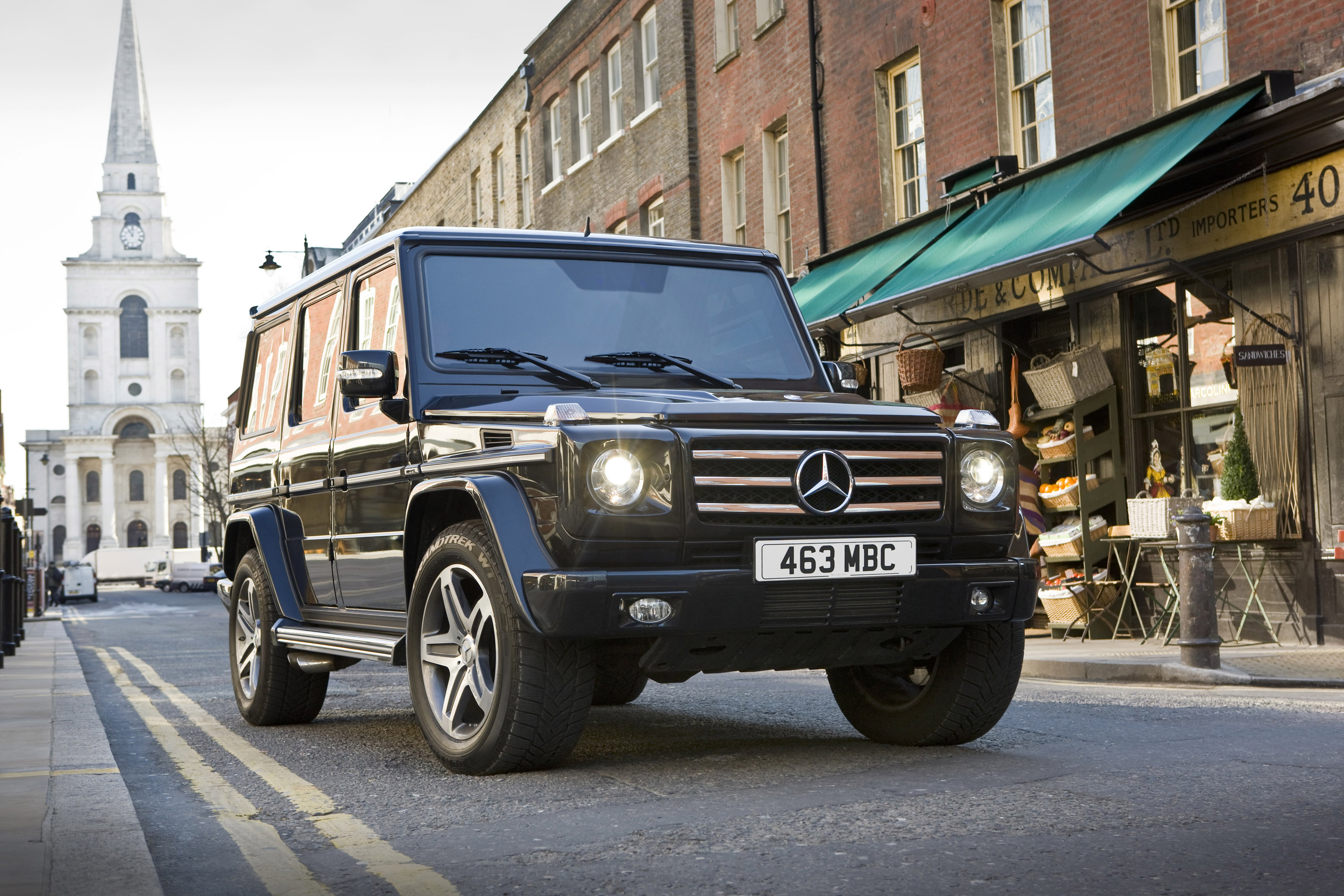 Mercedes Benz G Class Is Back On Quot The Track Quot