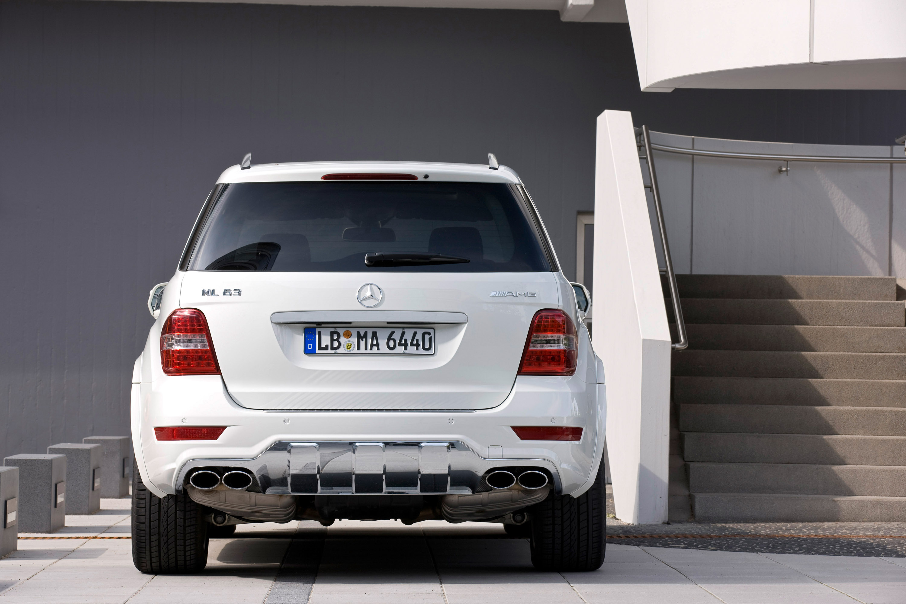 Mercedes Benz Releases Updated Ml63 Amg