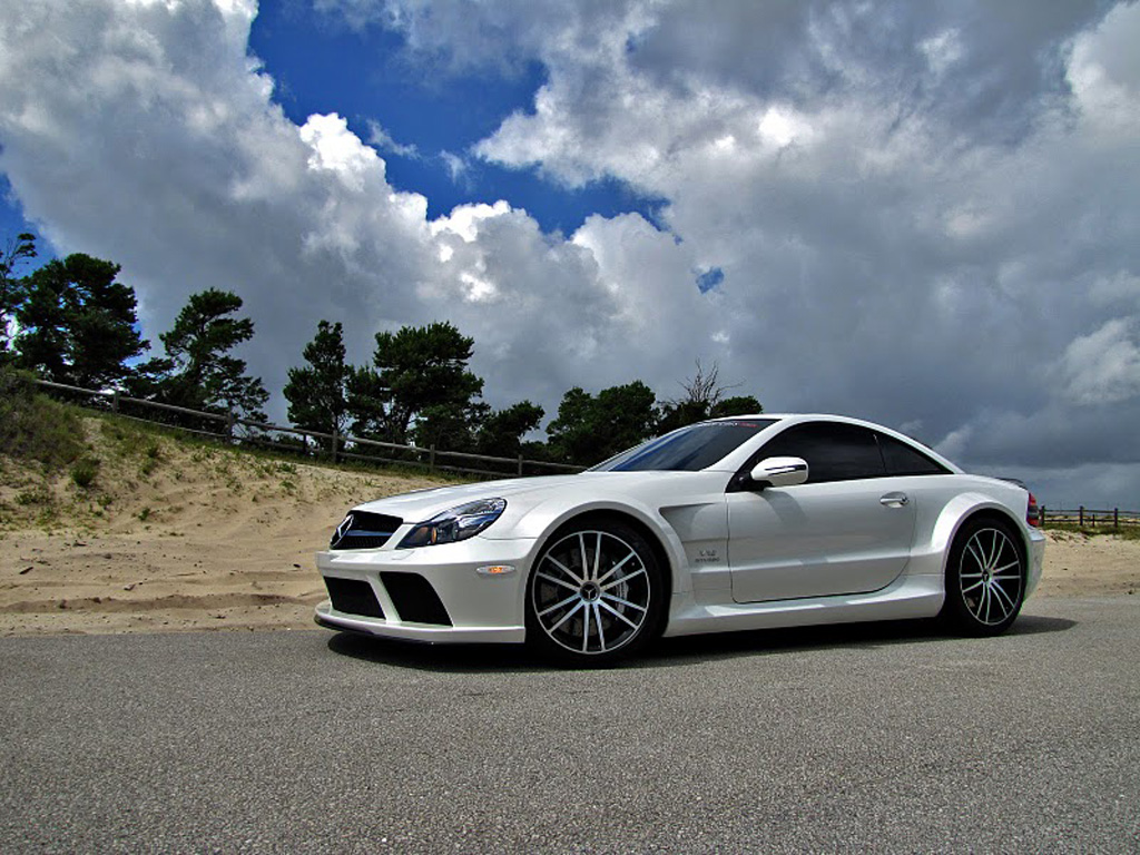Renntech sl65 amg black series has enough torque to stop for Mercedes benz sl65 amg black series price