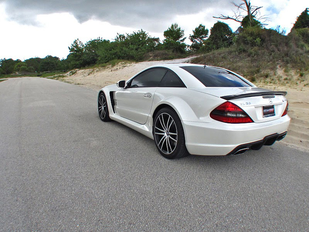 2010 Renntech Mercedes Benz Sl65 Amg V12 Biturbo Black Series