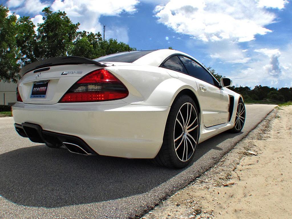 2010 Renntech Mercedes Benz Sl65 Amg V12 Biturbo Black Series Picture 40391