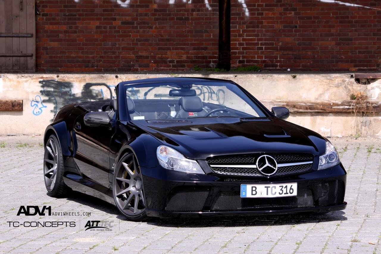 Tc concepts presents mercedes benz sl65 for Mercedes benz sl 2010